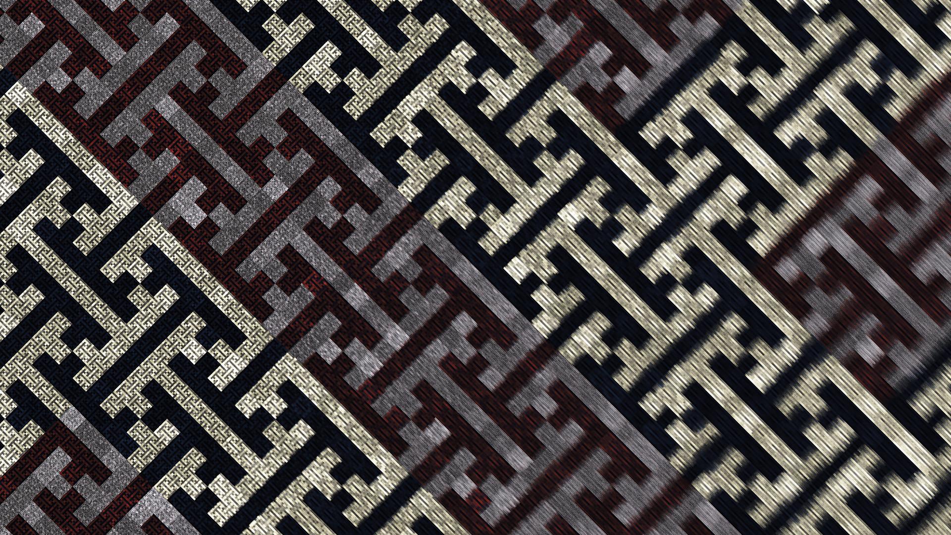 FRAMEofMIND Swastika Fractal (wallpaper)