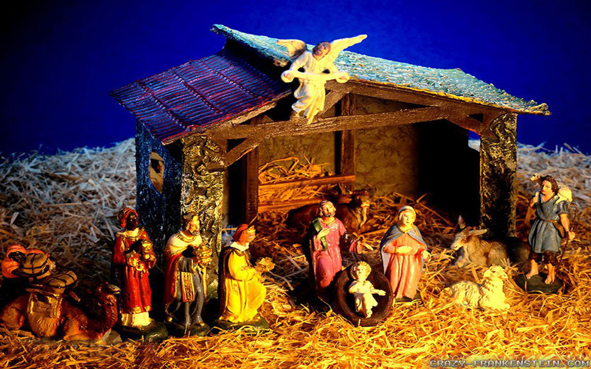 Videos · Home > Wallpapers > Holiday wallpapers > Christmas wallpapers · christmas  nativity wallpapers