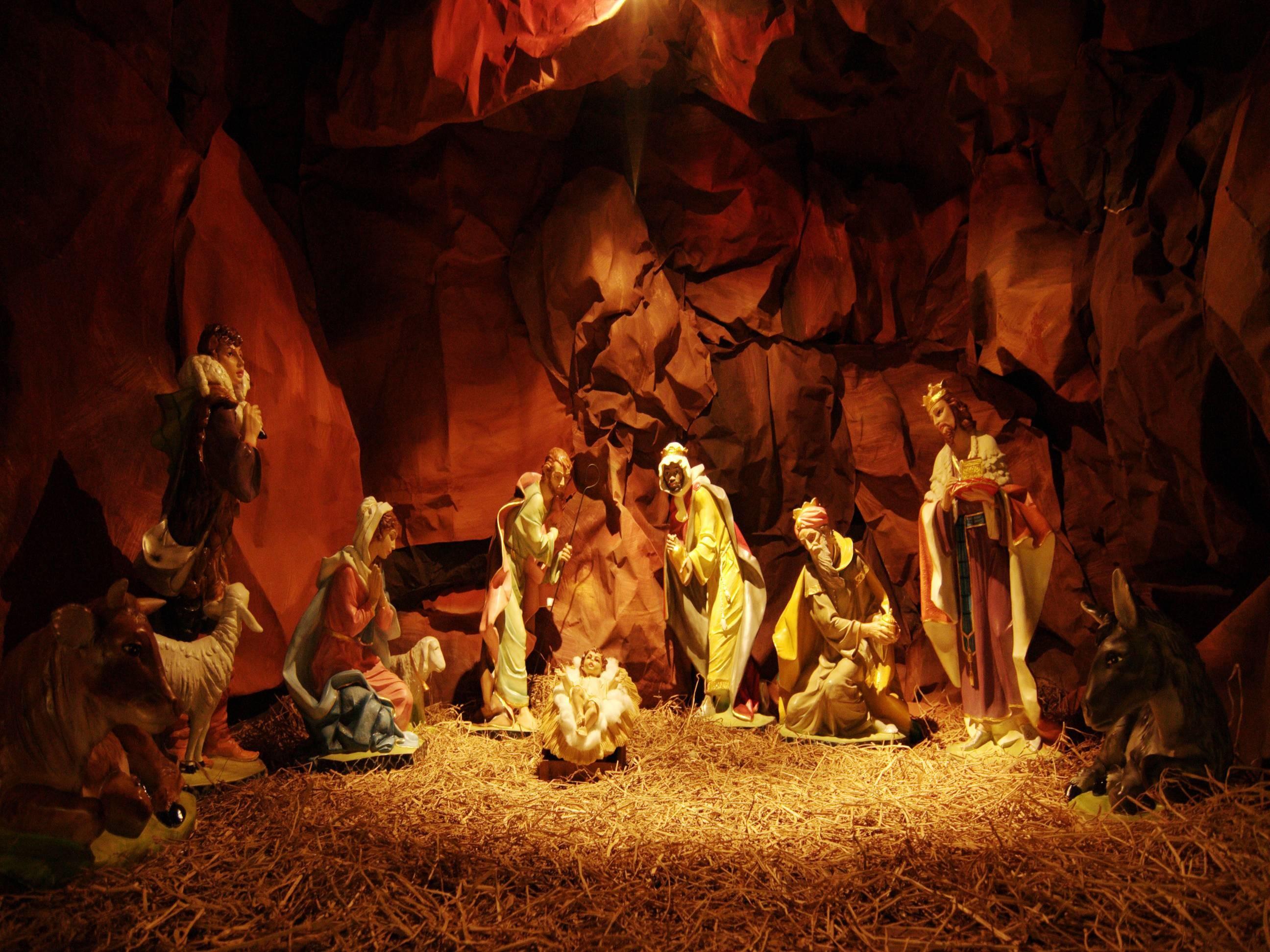 download nativity scene wallpaper – www.
