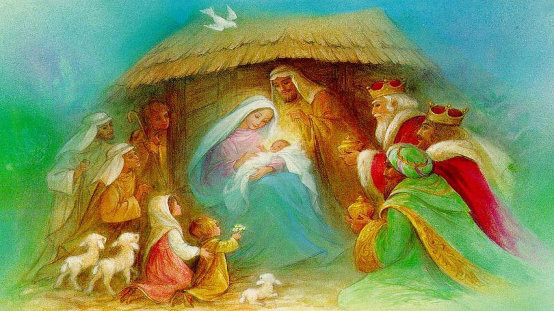 Christmas Nativity Wallpaper