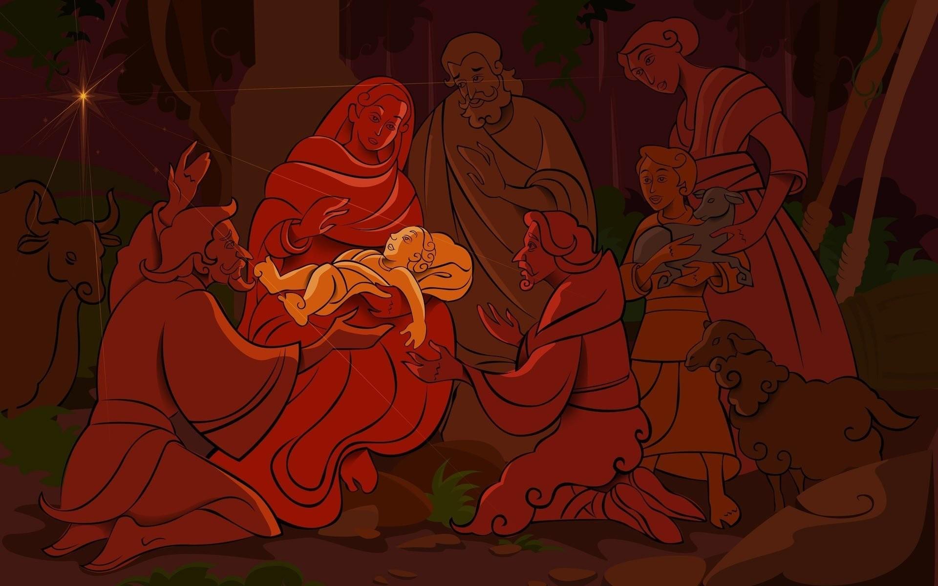 Nativity Scene Wallpaper 248749 …