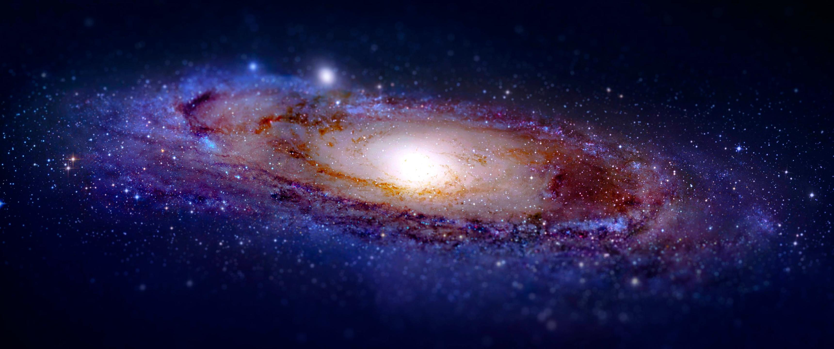 Andromeda Galaxy Ultrawide Wallpaper