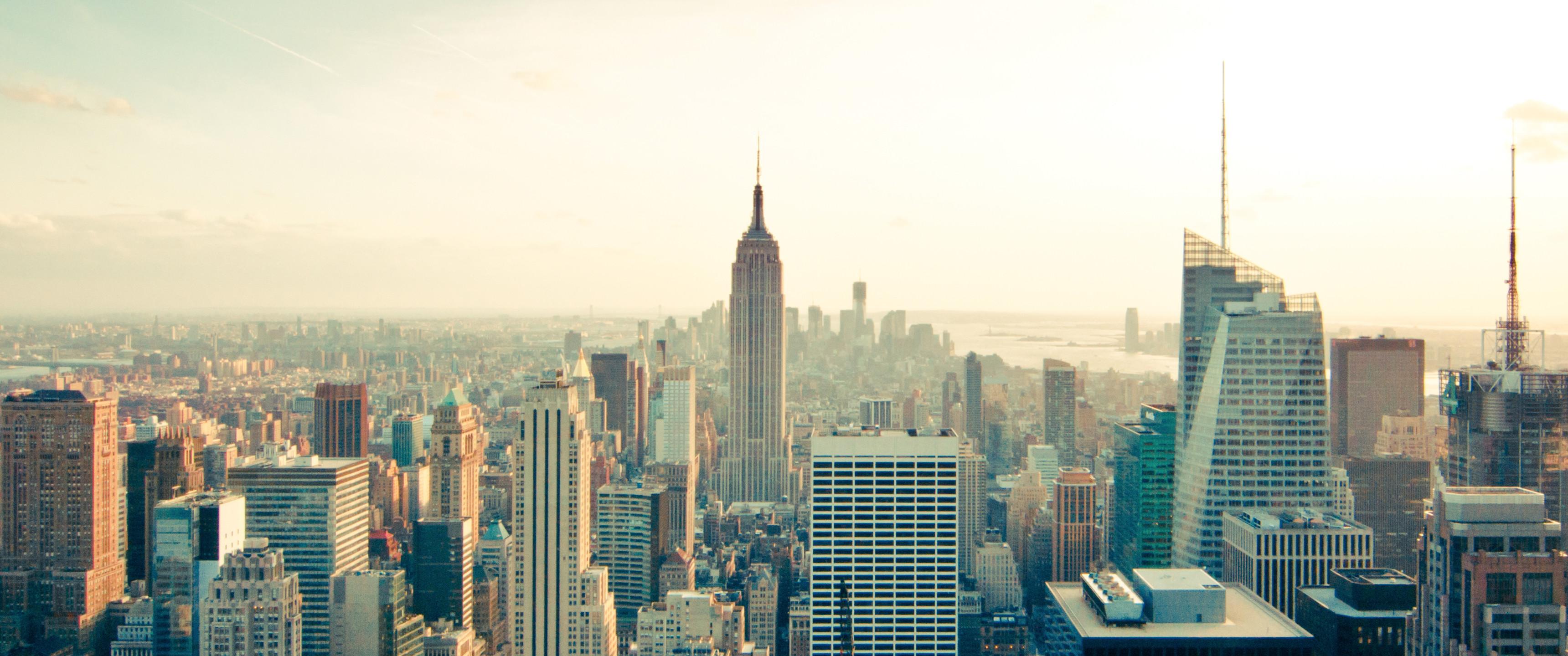 21:9 Ultrawide HD Wallpaper (3440×1440) – New York Skyline.. View