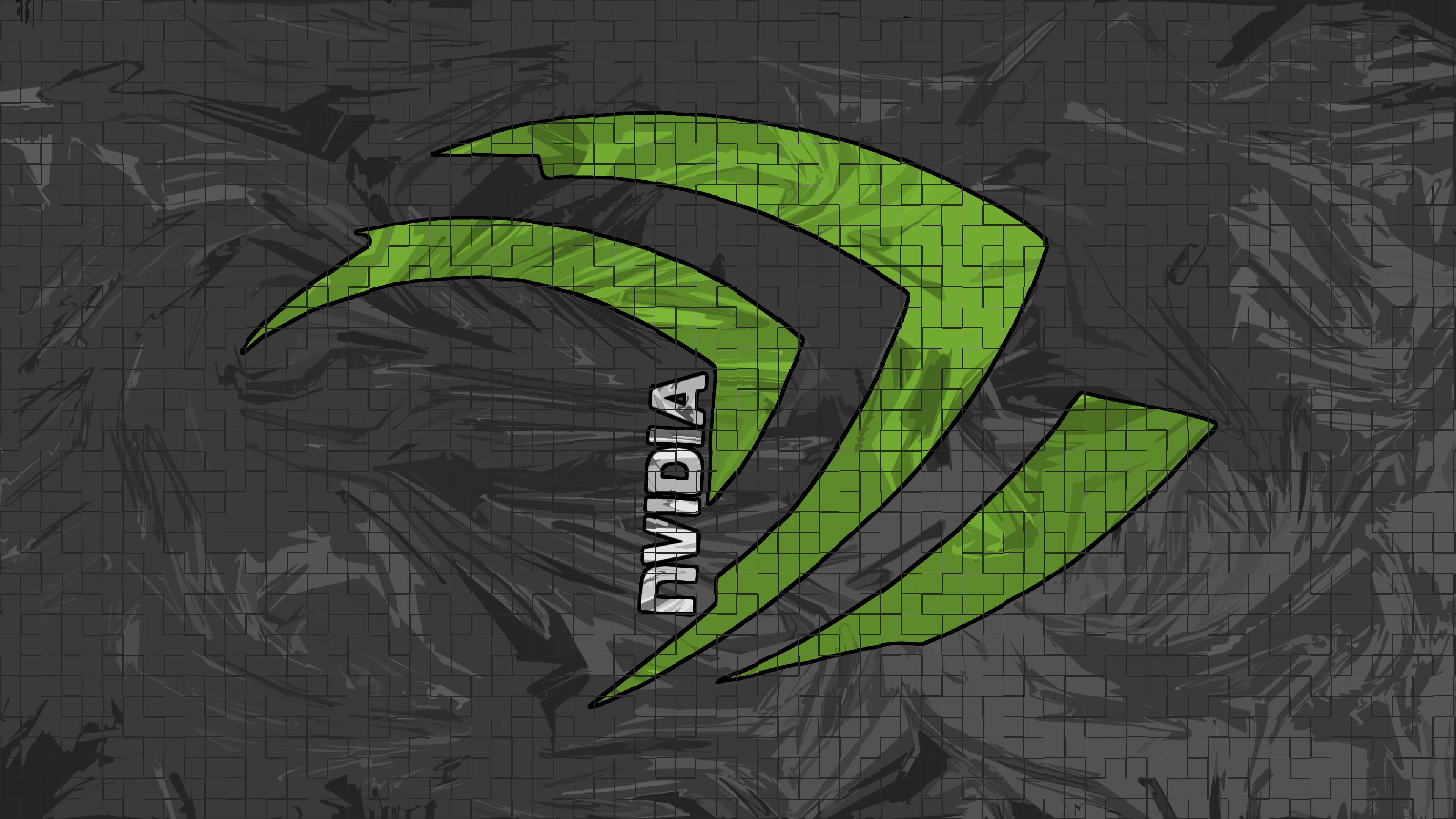 … Nvidia 4K Chaos Grid Wallpaper by RV770