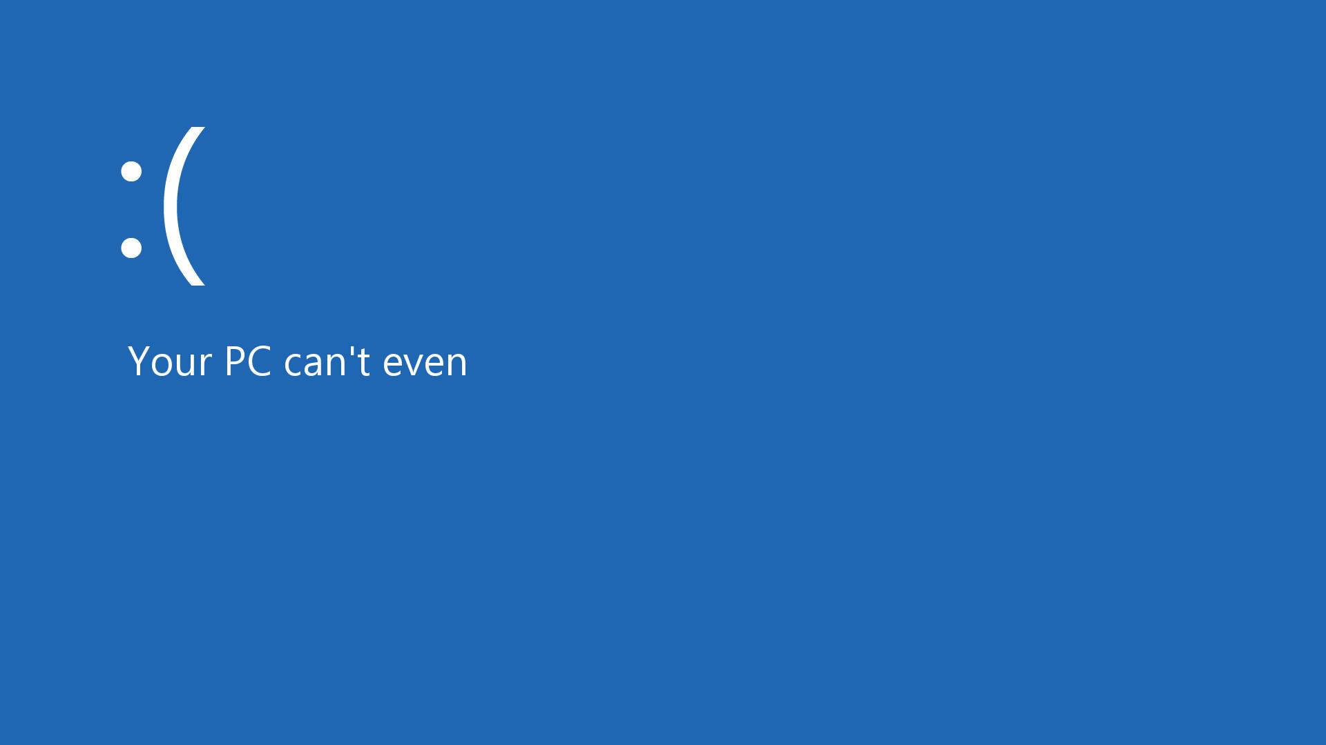Windows 8 Blue Screen [1920×1080] …