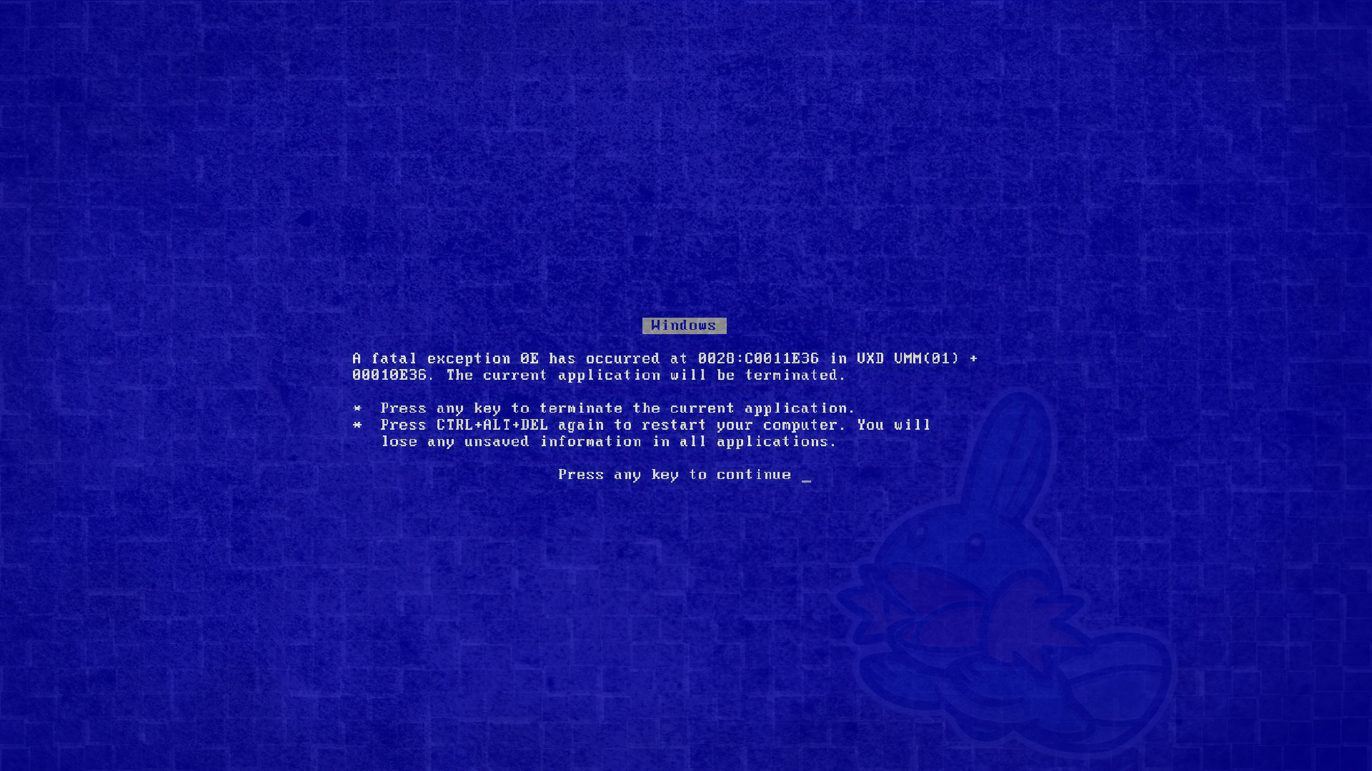 Blue Screen Wallpaper Death