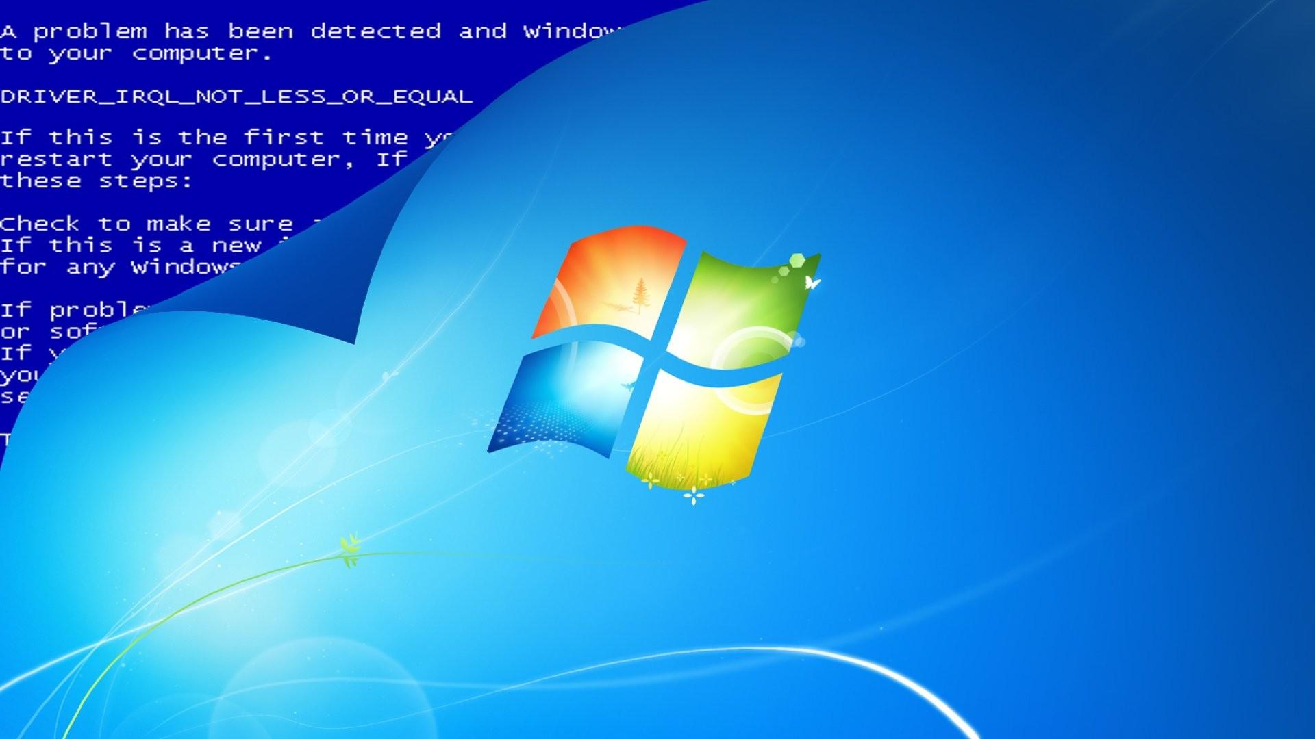 Blue Screen 746587 …