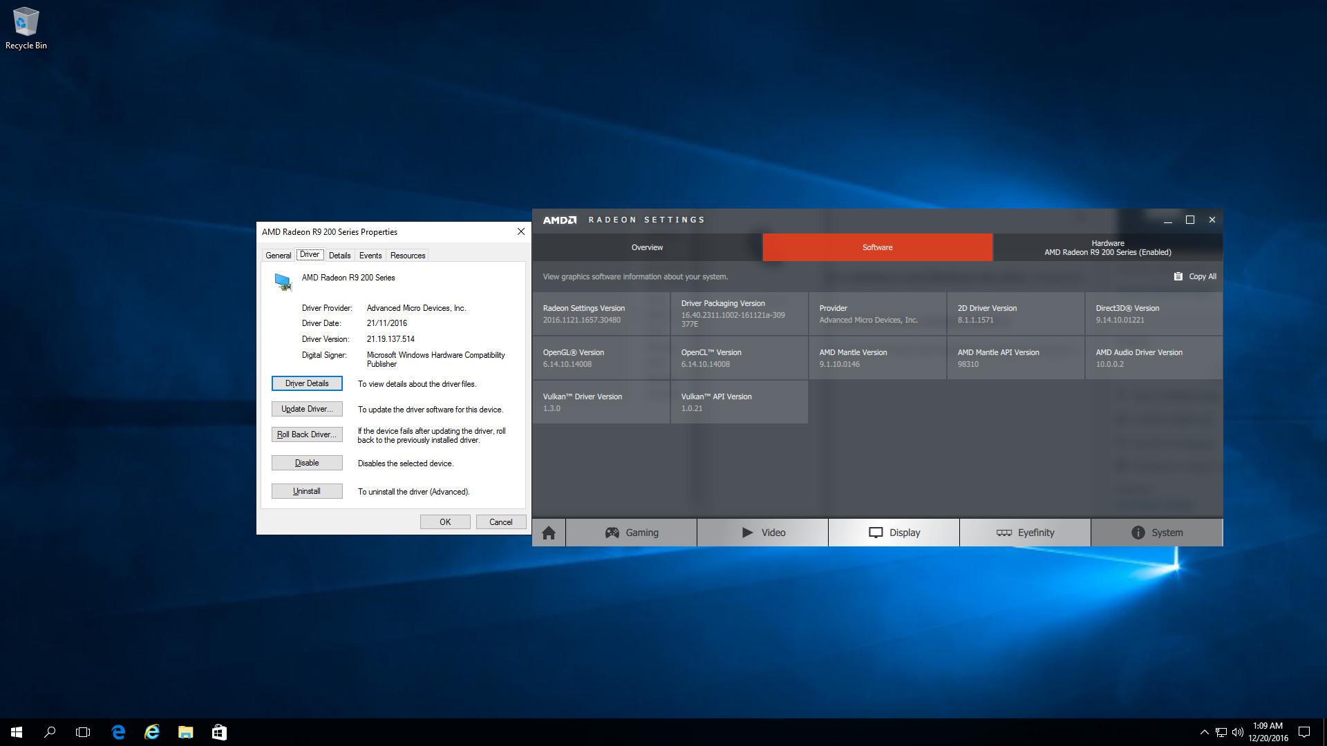 Resolve ATI Radeon black screen / BSOD crashes on Windows 10