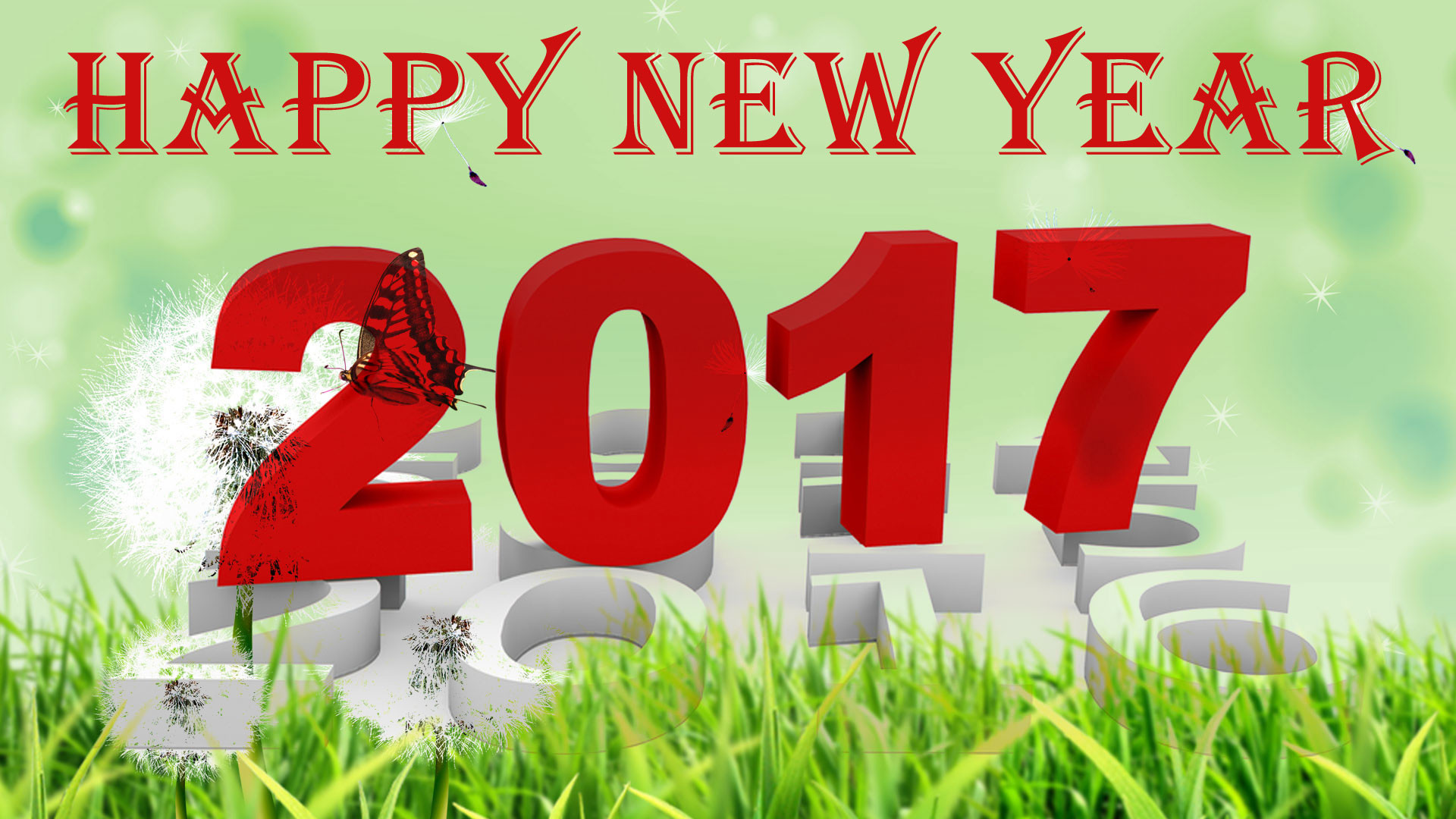 1080p Happy New Year 2017 Wallpapers.