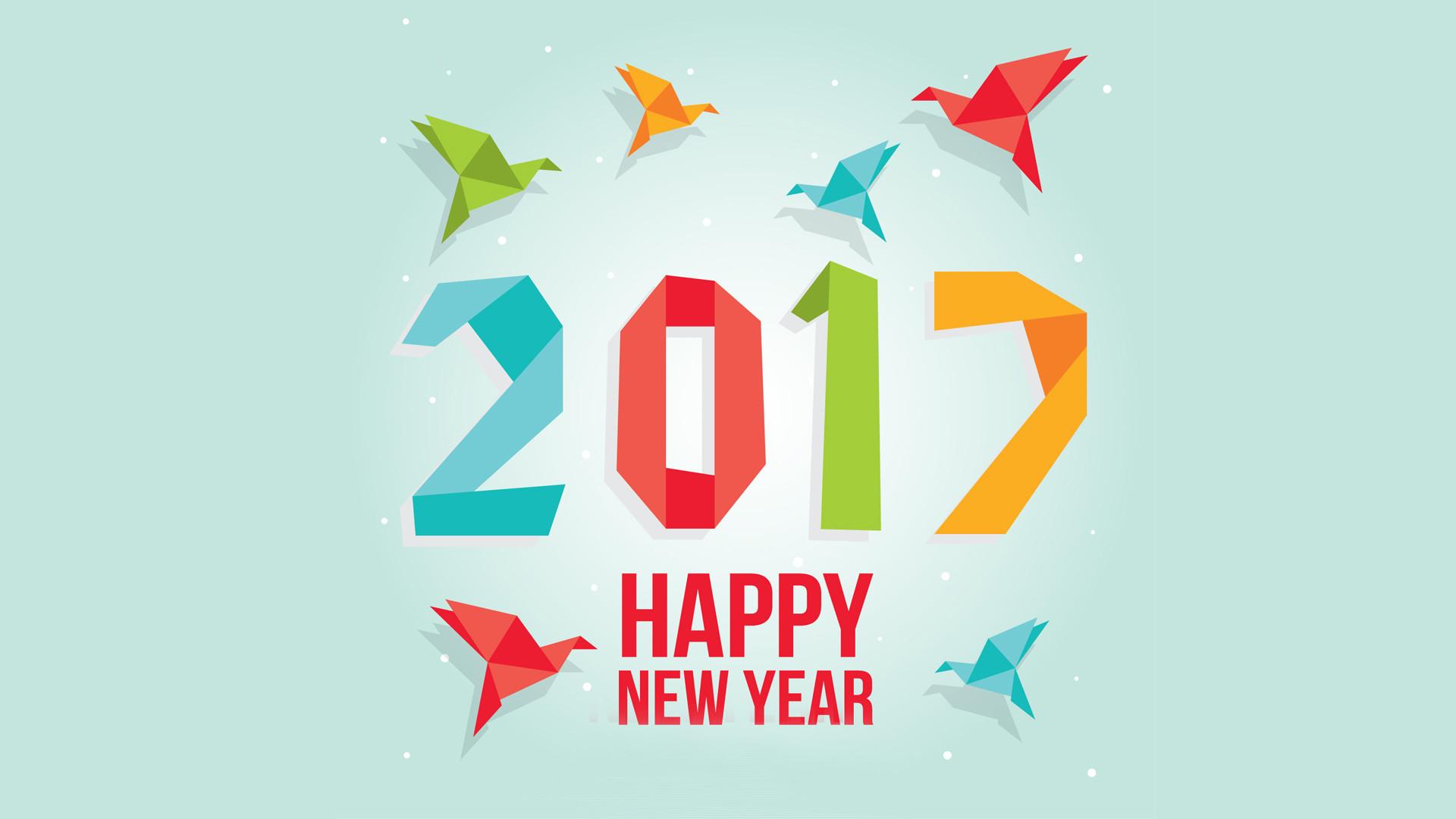 Attractive Happy New Year Wallpaper 2017