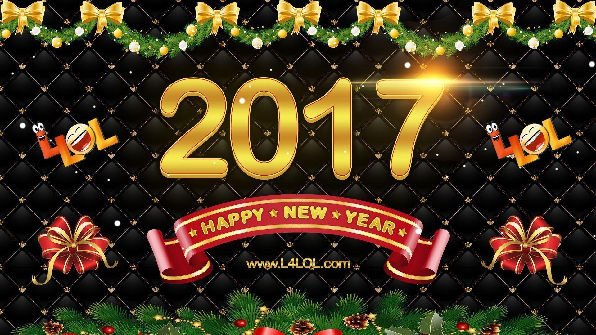 Happy New Year 2017 Wallpaper