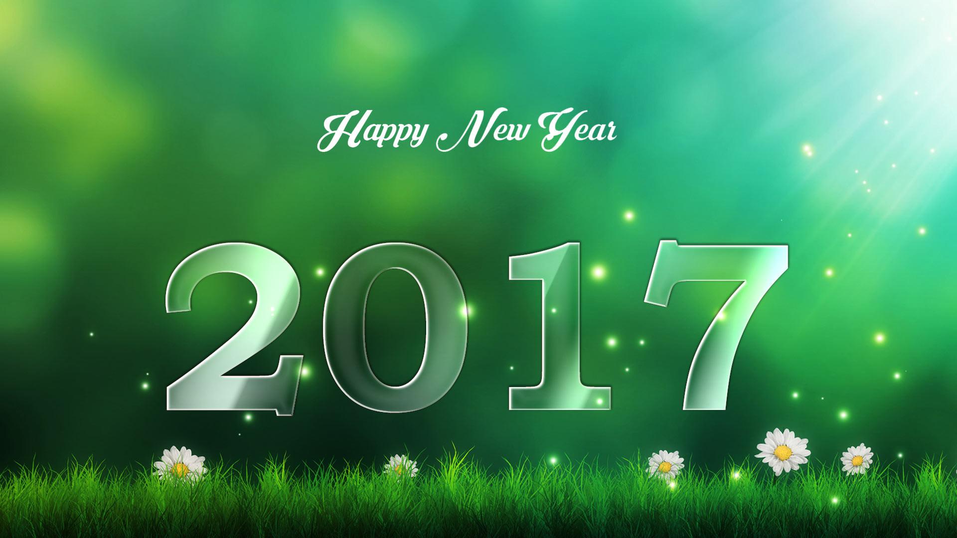 Nature Wallpaper Happy New Year 2017
