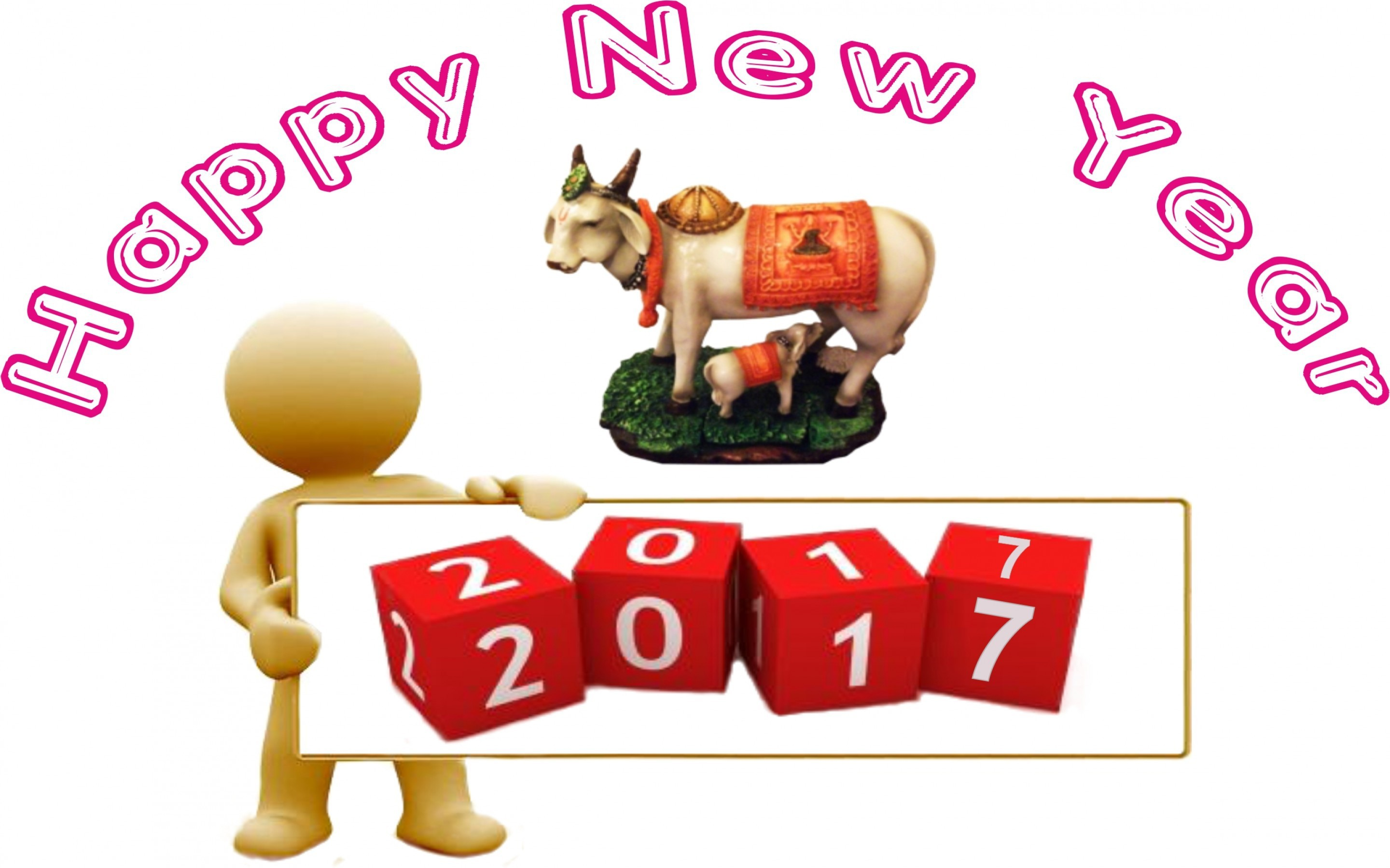 Happy New Year 2017 High Definition Wallpapers.