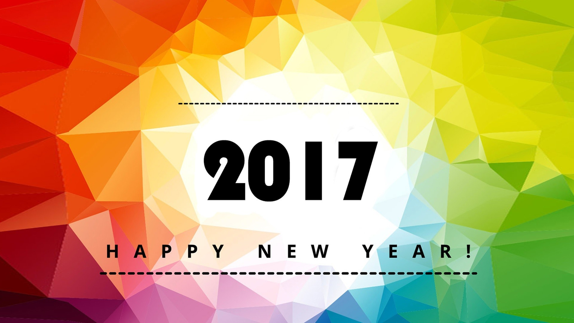Wallpapers happy new year 2017 1920×1080