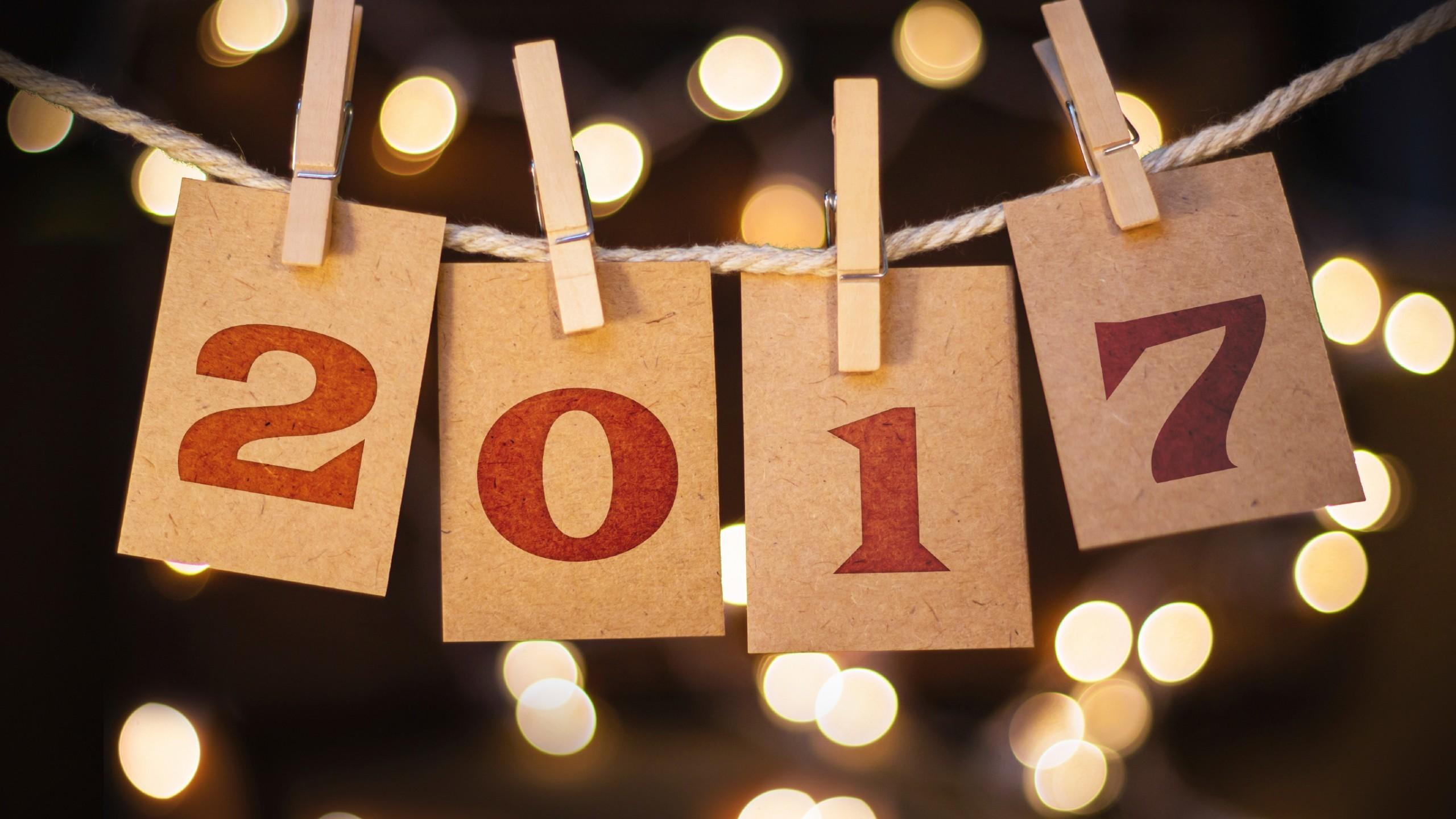 Celebrations / New Year / 2017 Wallpaper