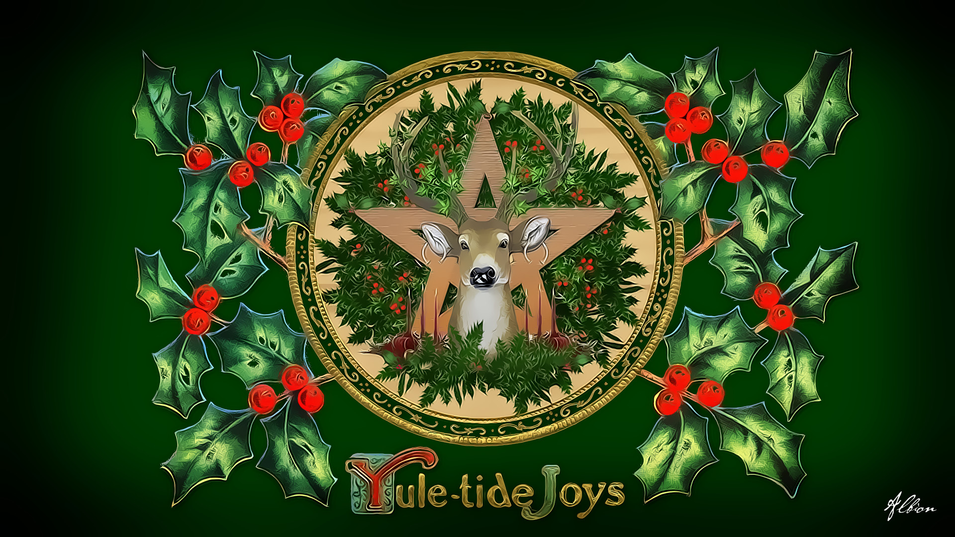 … Yuletide Greetings from Albion by The-Pagan-Gallery