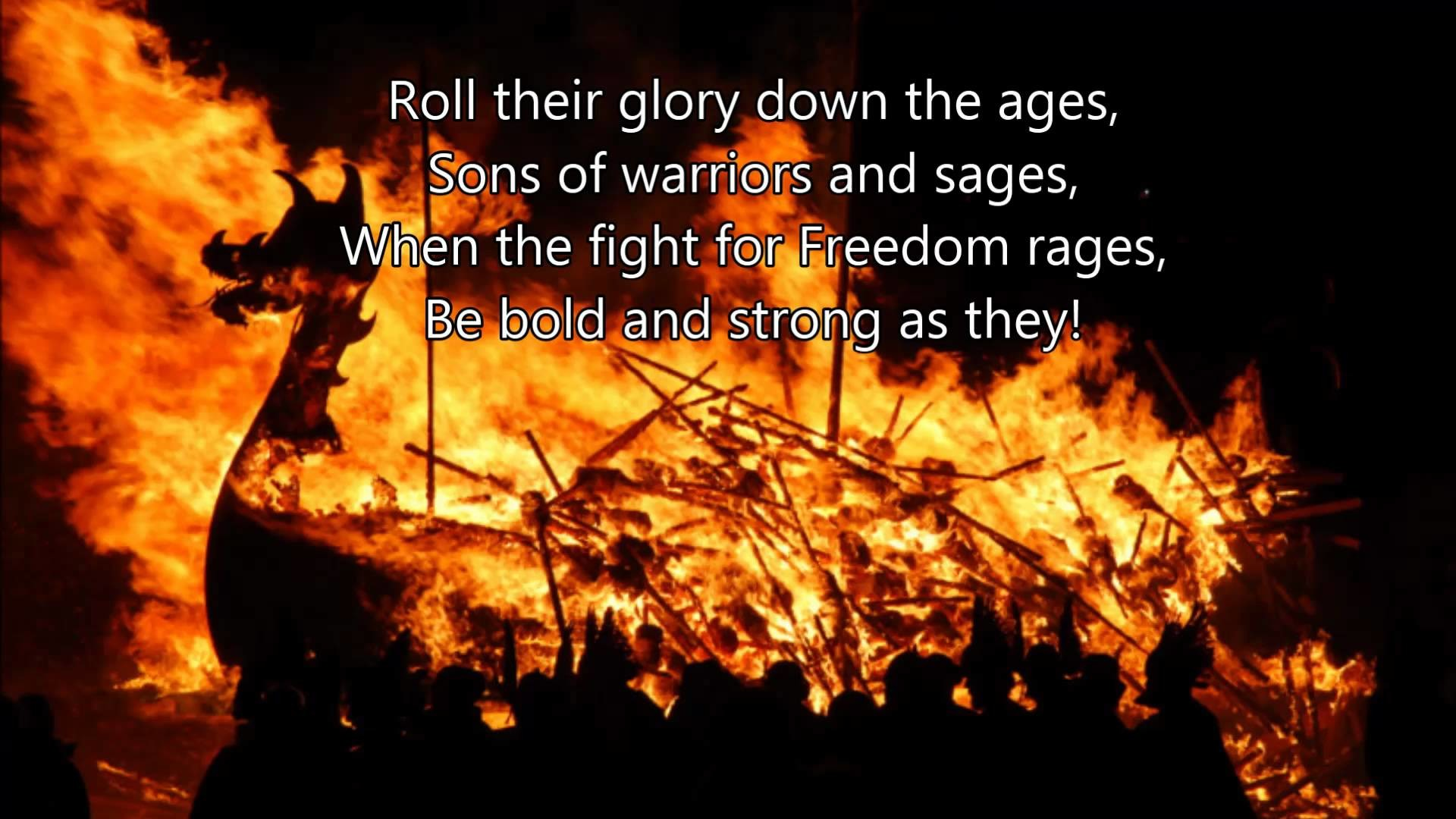 Hail our great Warriors, for they are not dead, but only sleeping. Soon