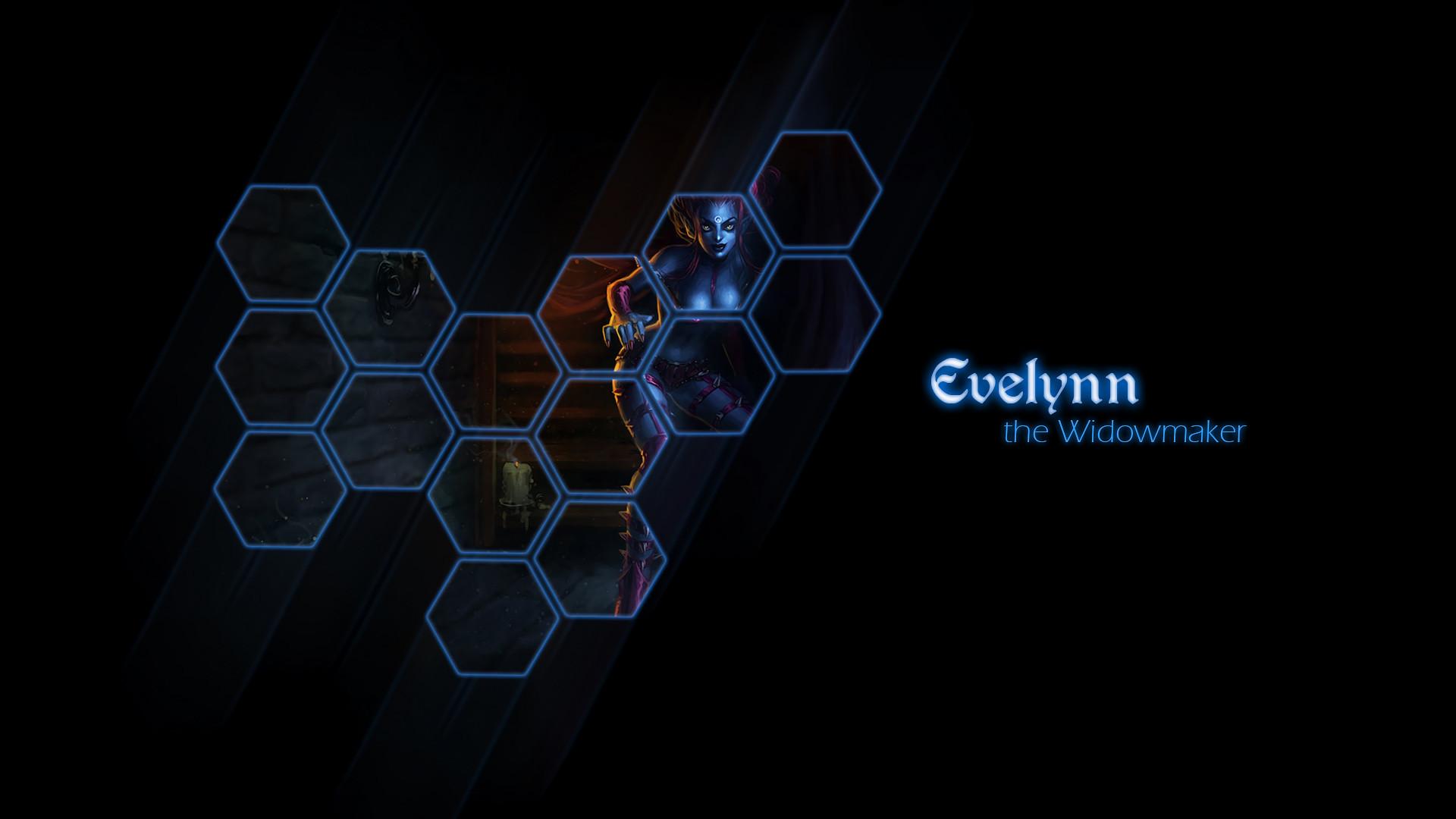 Evelynn by muamerART HD Wallpaper Fan Art Artwork League of Legends lol