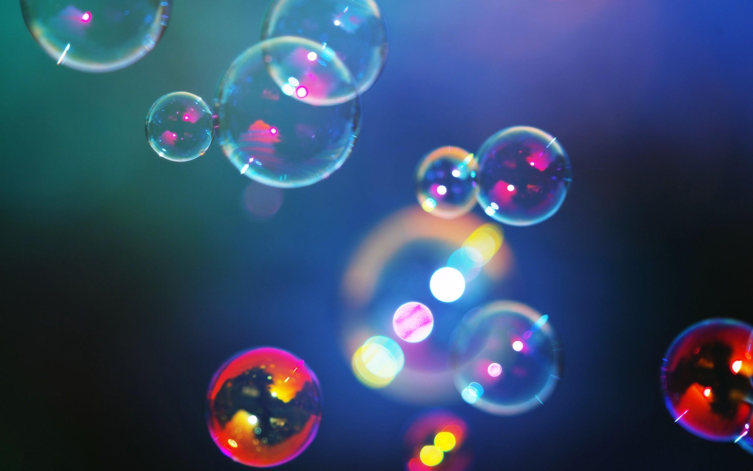Shimmering Colorful Bubbles Hd Wallpaper   Wallpaper List