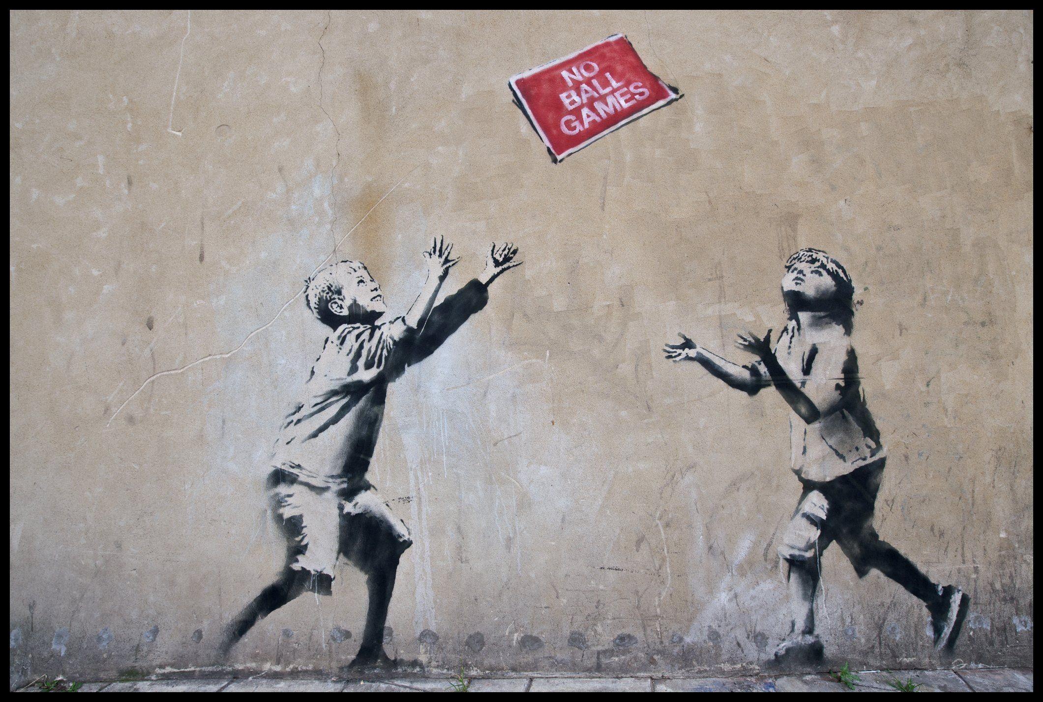 Banksy Art Abstract