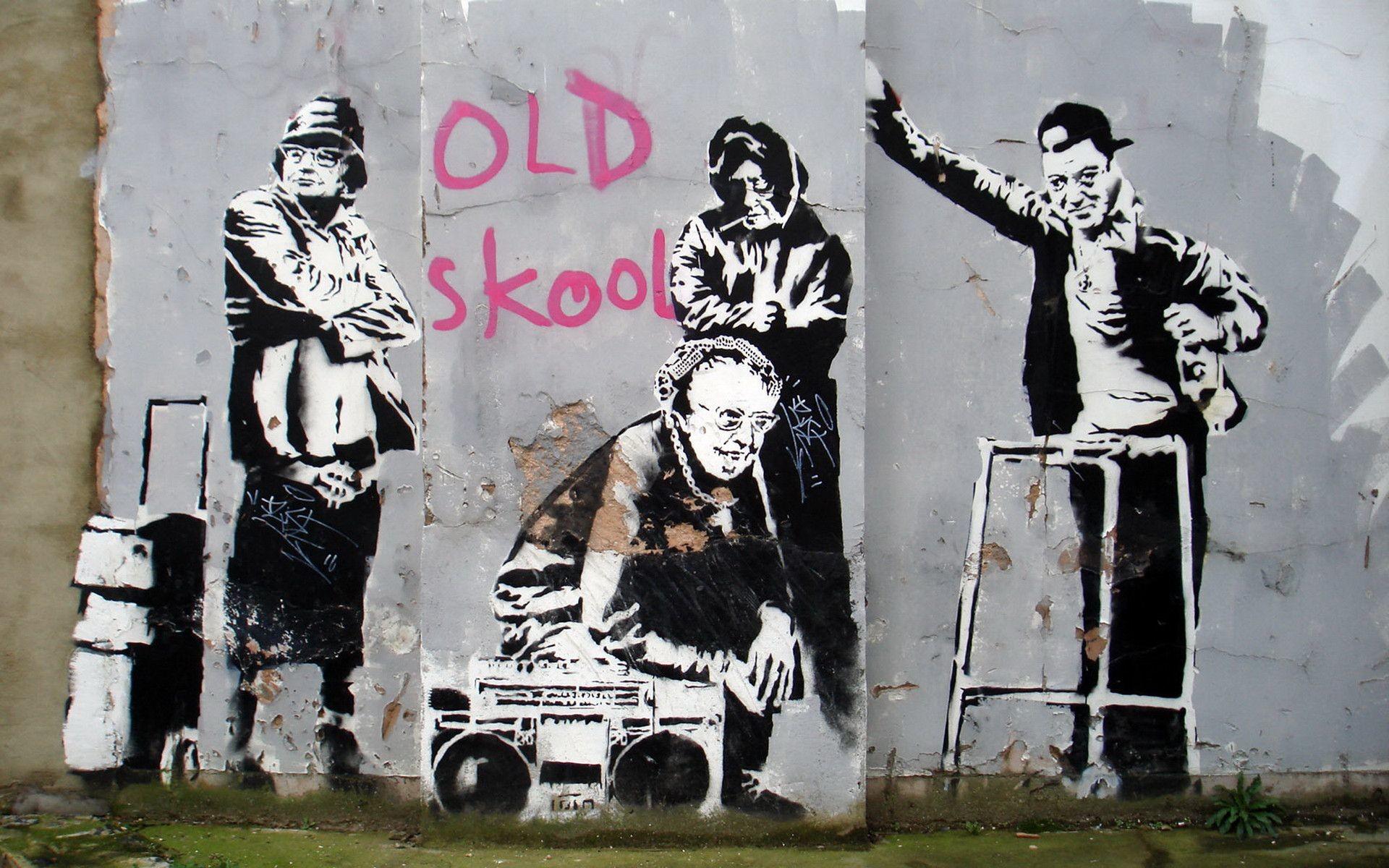 Banksy Art Wallpaper