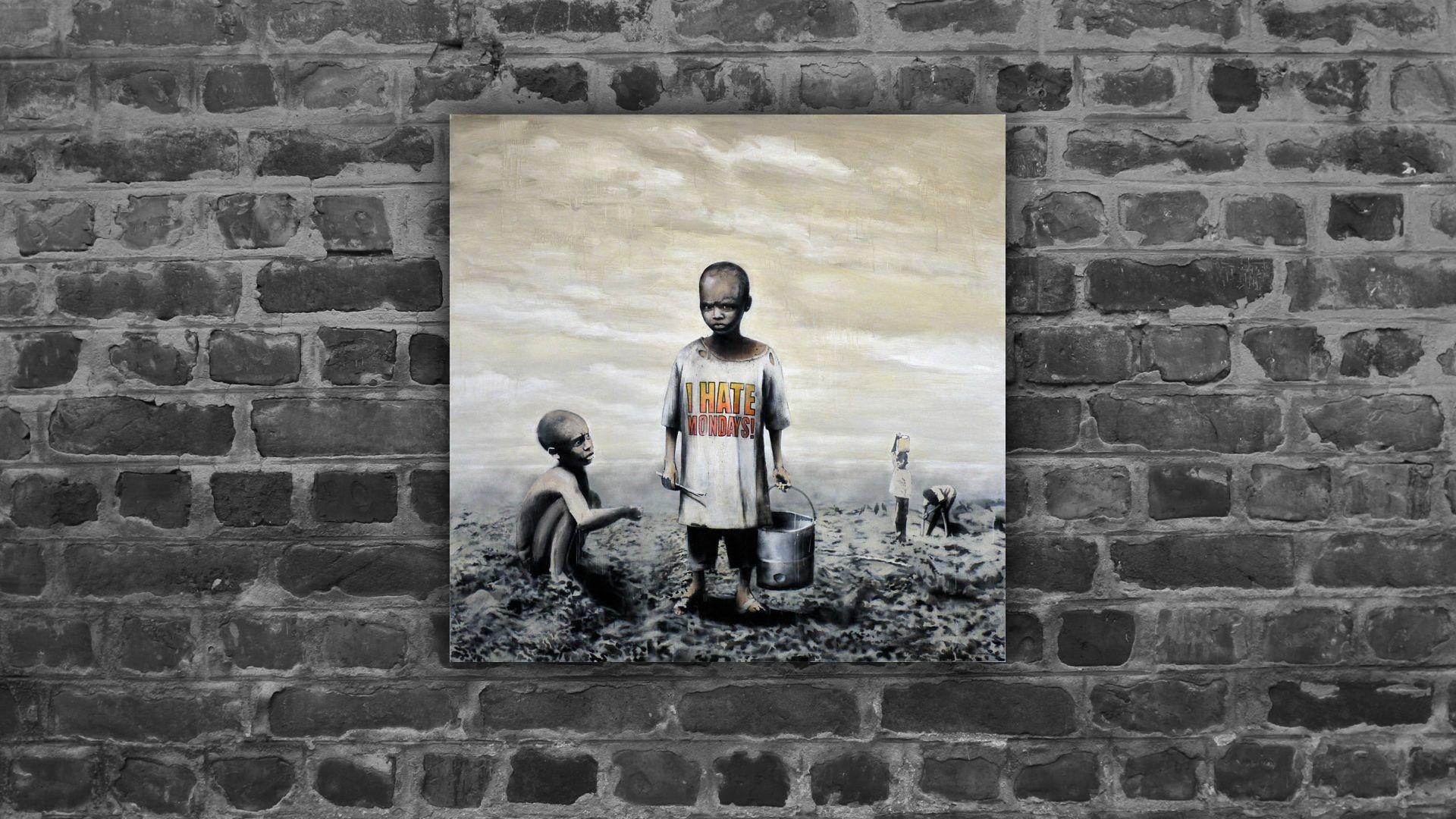 Banksy – Mondays [1920×1080]
