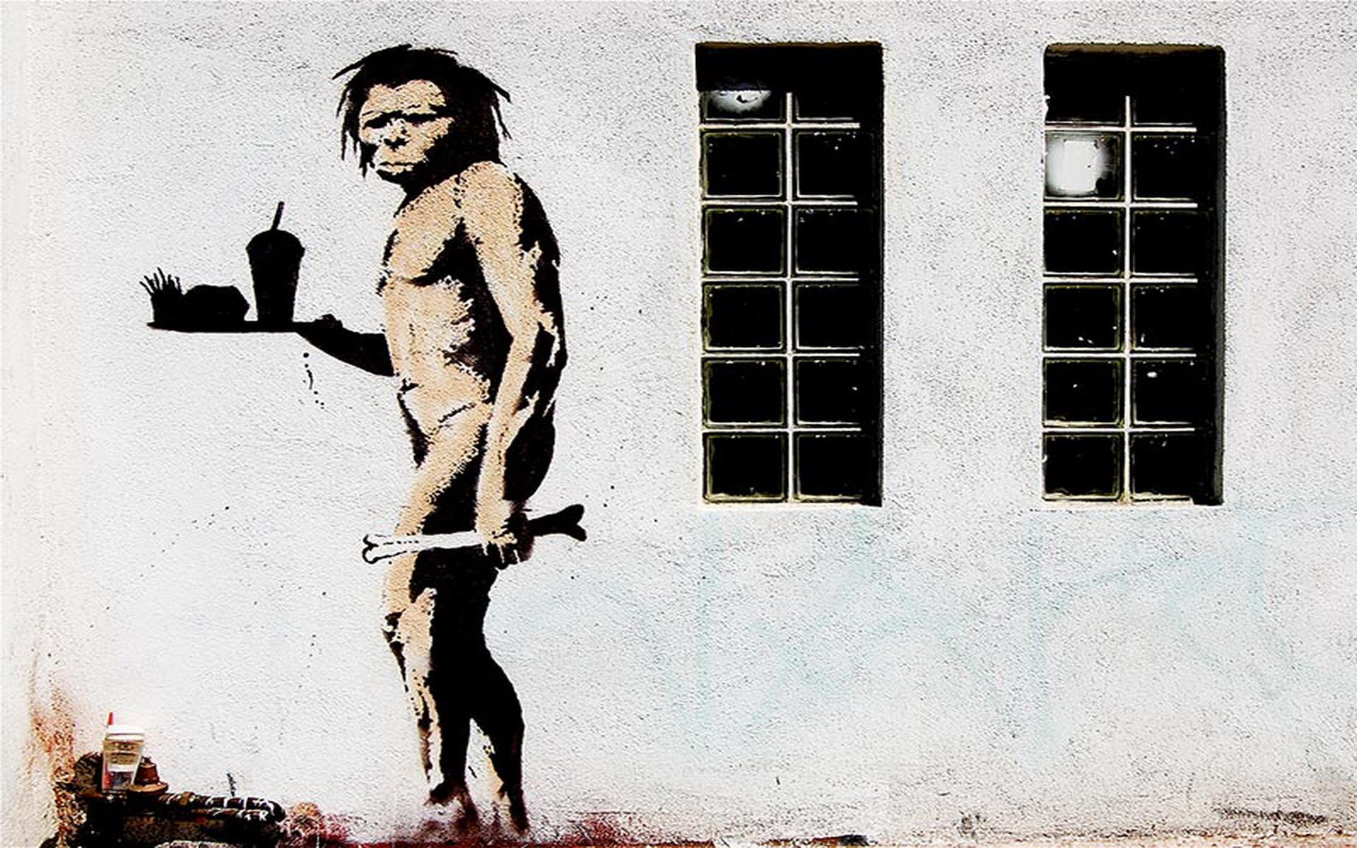 Banksy Art Wallpaper – WallpaperSafari