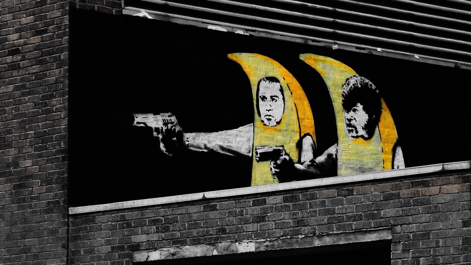 Banksy Pulp Fiction