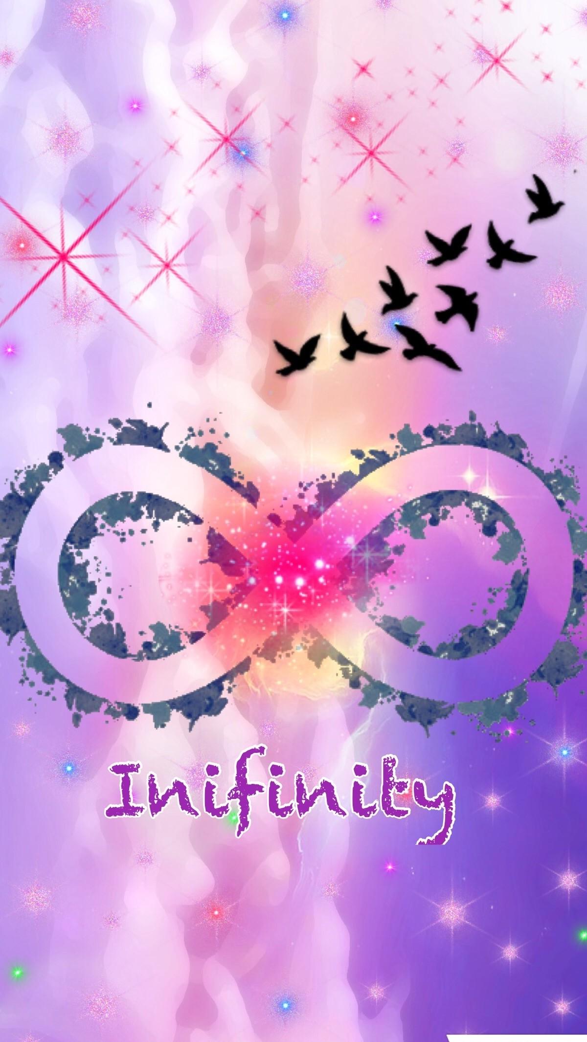 Cute girly infinity