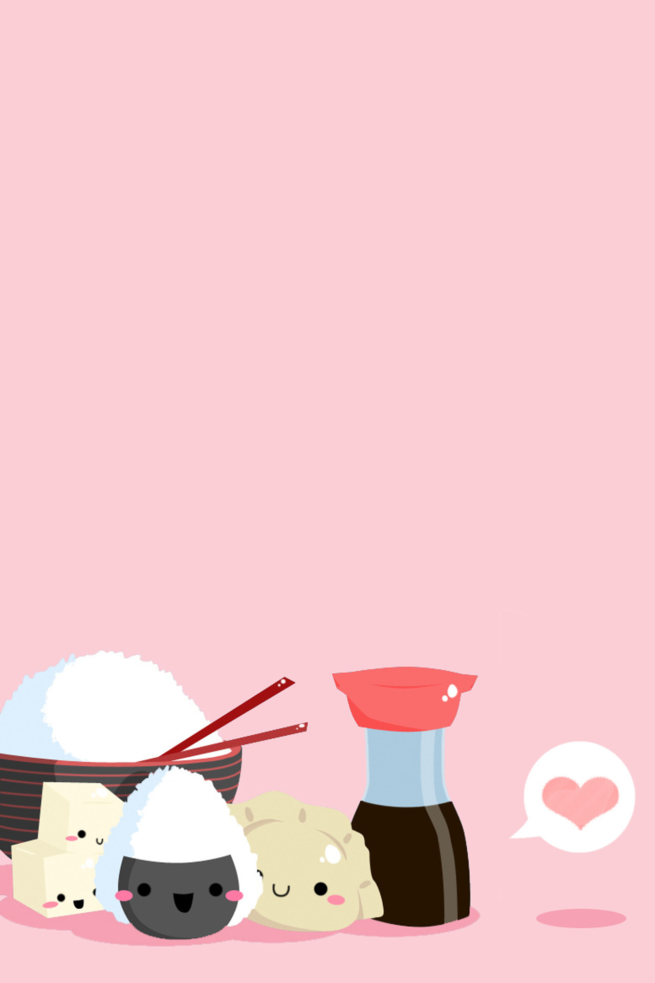 Sushi Kawaii Girly Pink light switch plate bedroom wall art cute Home  Decor. Kawaii WallpaperWallpaper For IphoneKawaii …