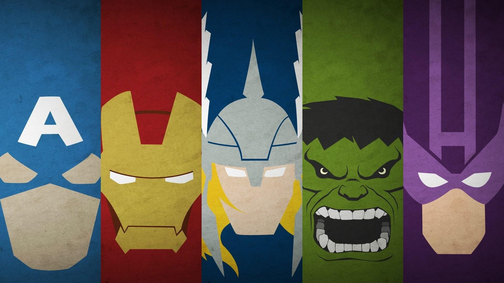 Minimalist Superhero wallpaper 226279