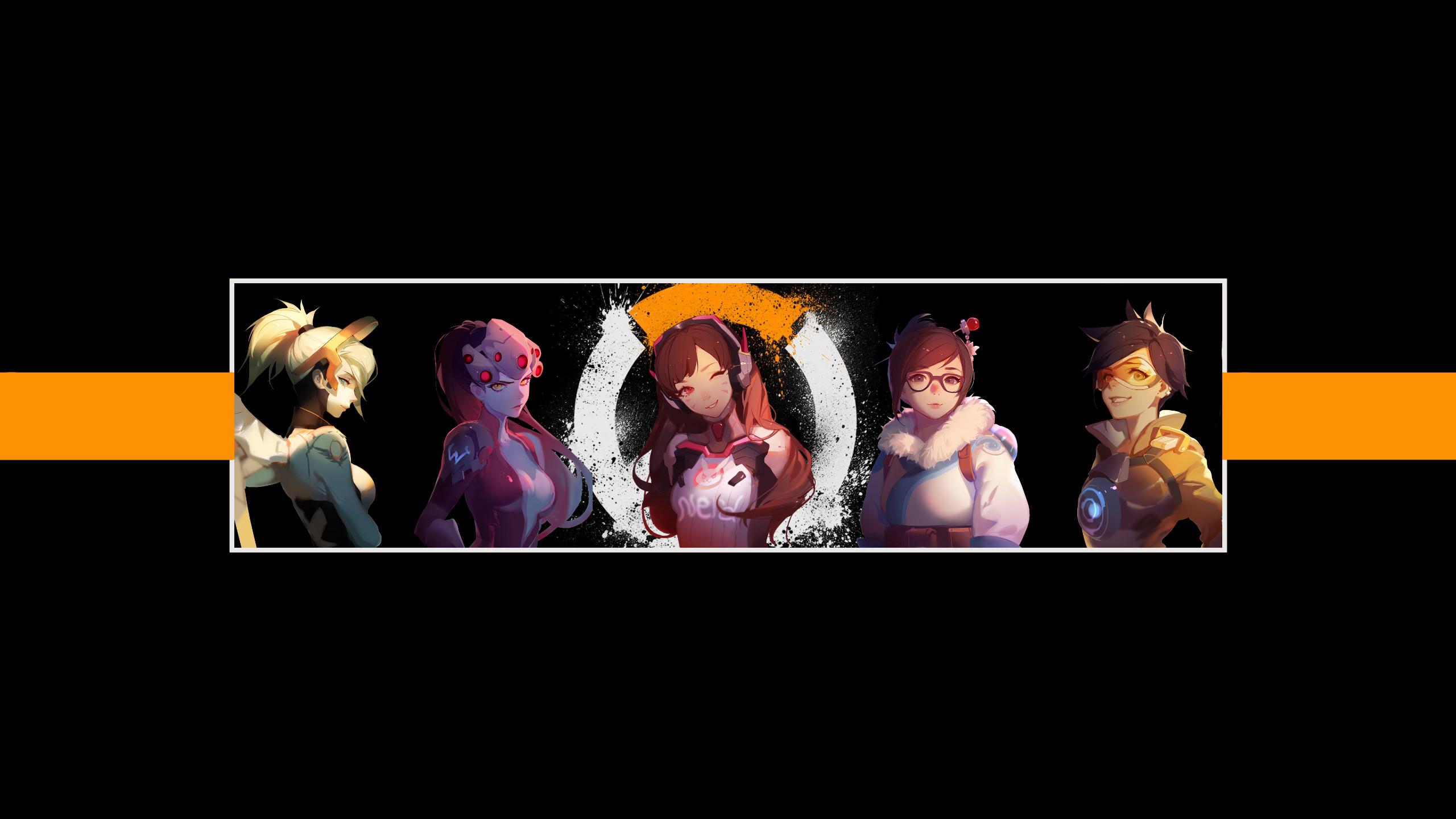 … Overwatch Girl Heroes Desktop Wallpaper – Nerd by Lowkey-Nerd