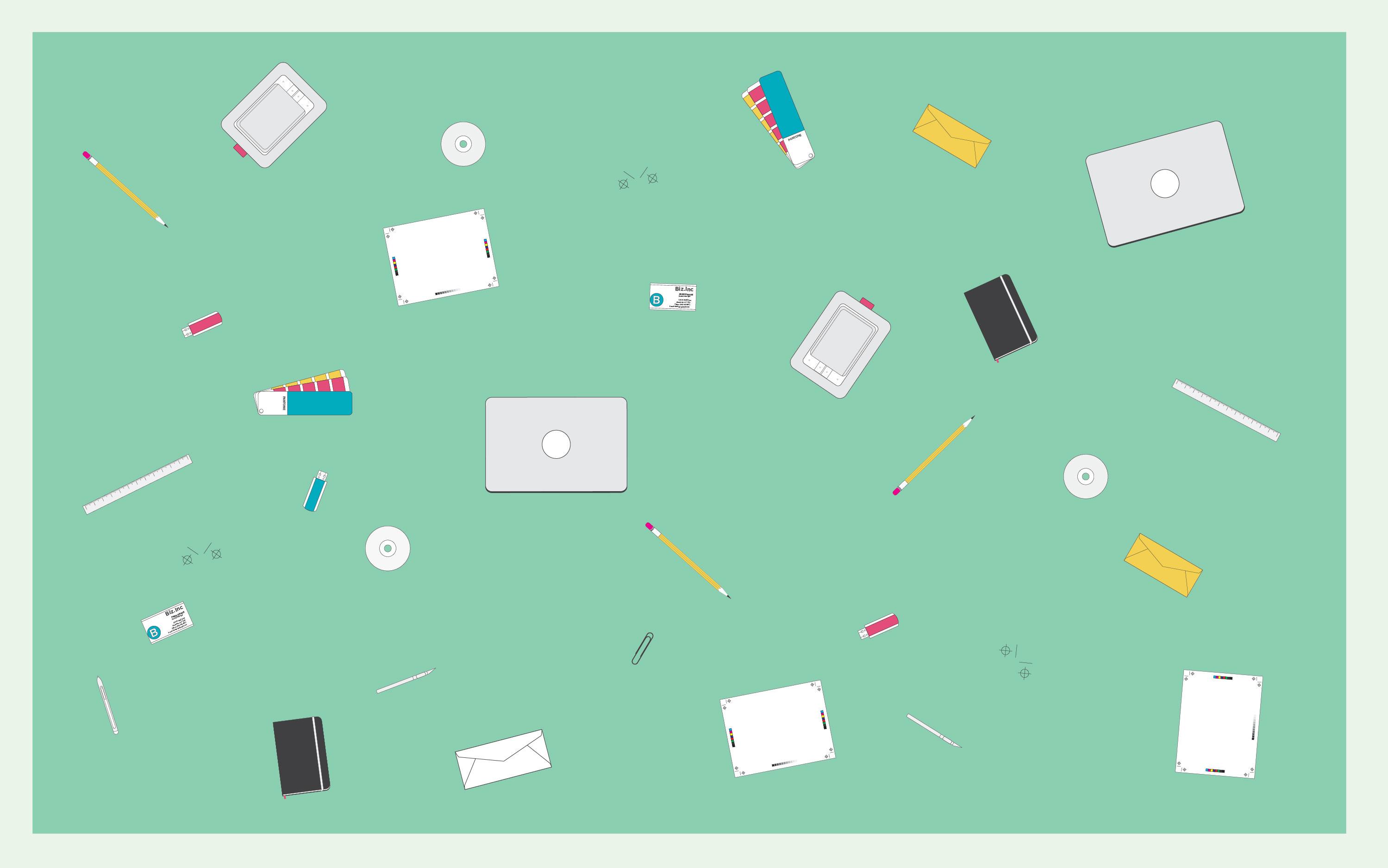 Freebie Friday: Designer Nerd Desktop Wallpaper