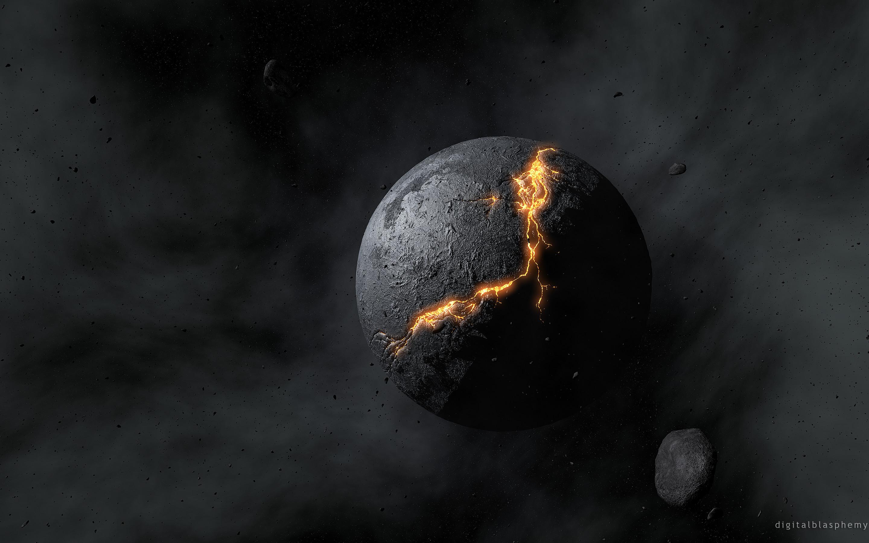 Crucible Planet … Digital Blasphemy … 2880 x 1800 … Desktop Wallpapers PaintingNerdResolutionsPlanetsBlogThe End