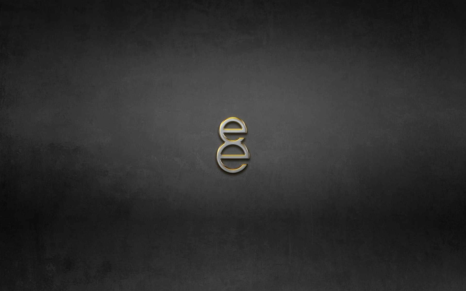 8e Gold Logo Dark Grunge Texture Desktop Wallpaper Uploaded by esnooze