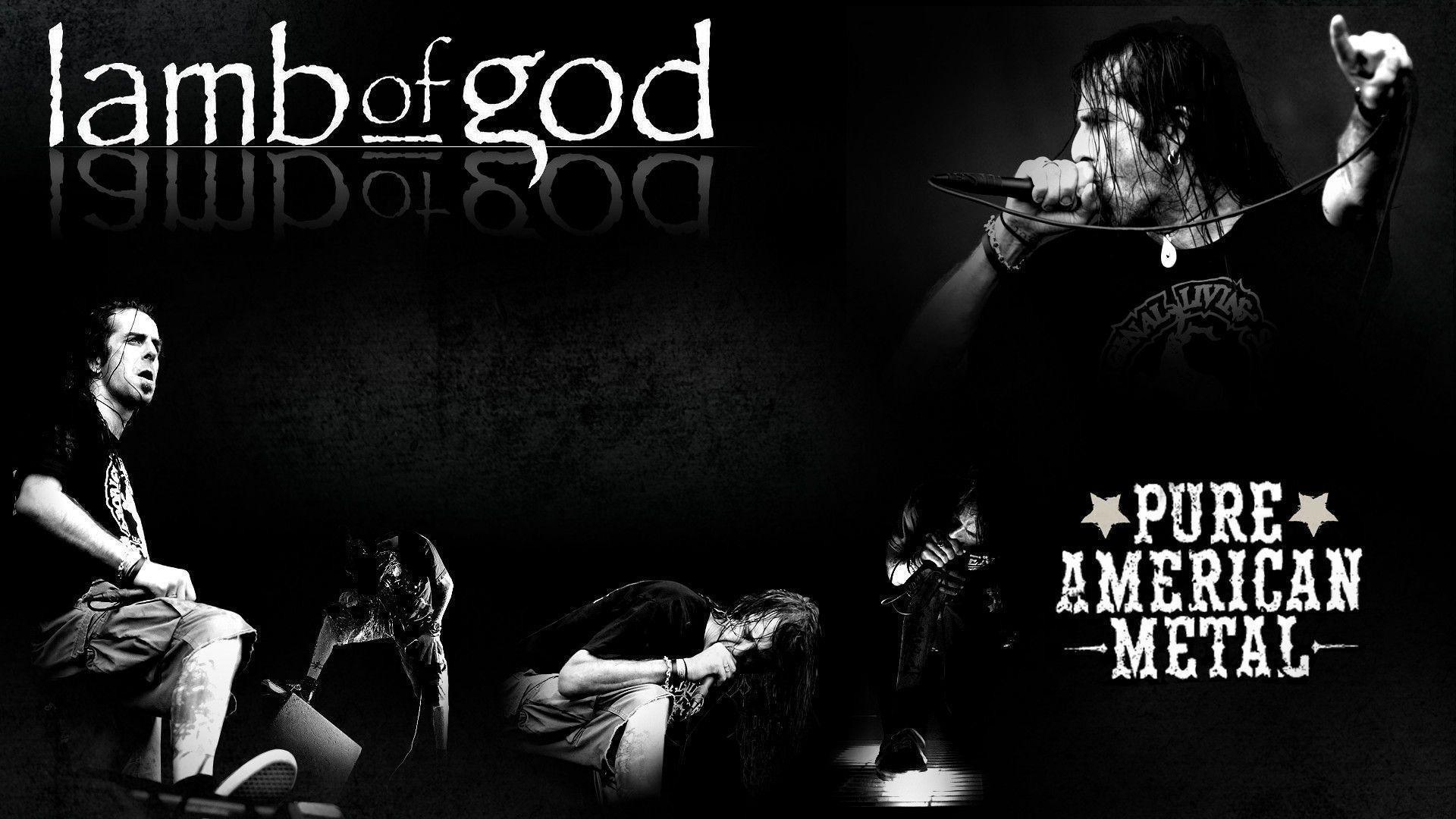 Lamb of God Pure American Metal Music HD Wallpaper Download .