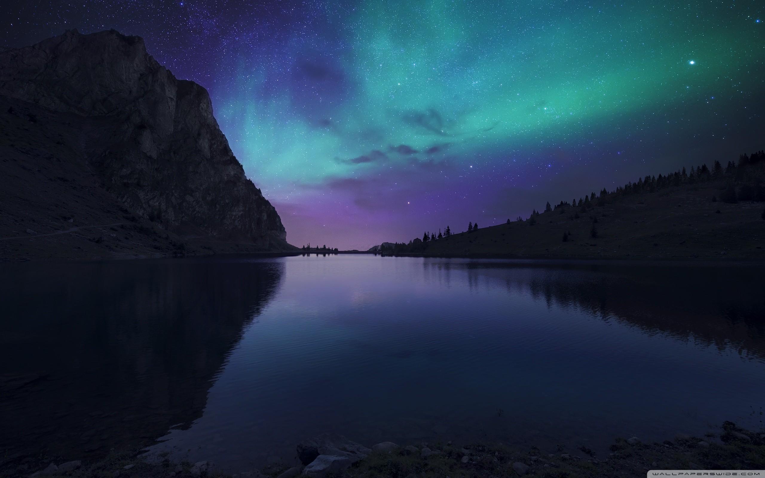 Aurora Borealis Atmosphere HD Wide Wallpaper for Widescreen