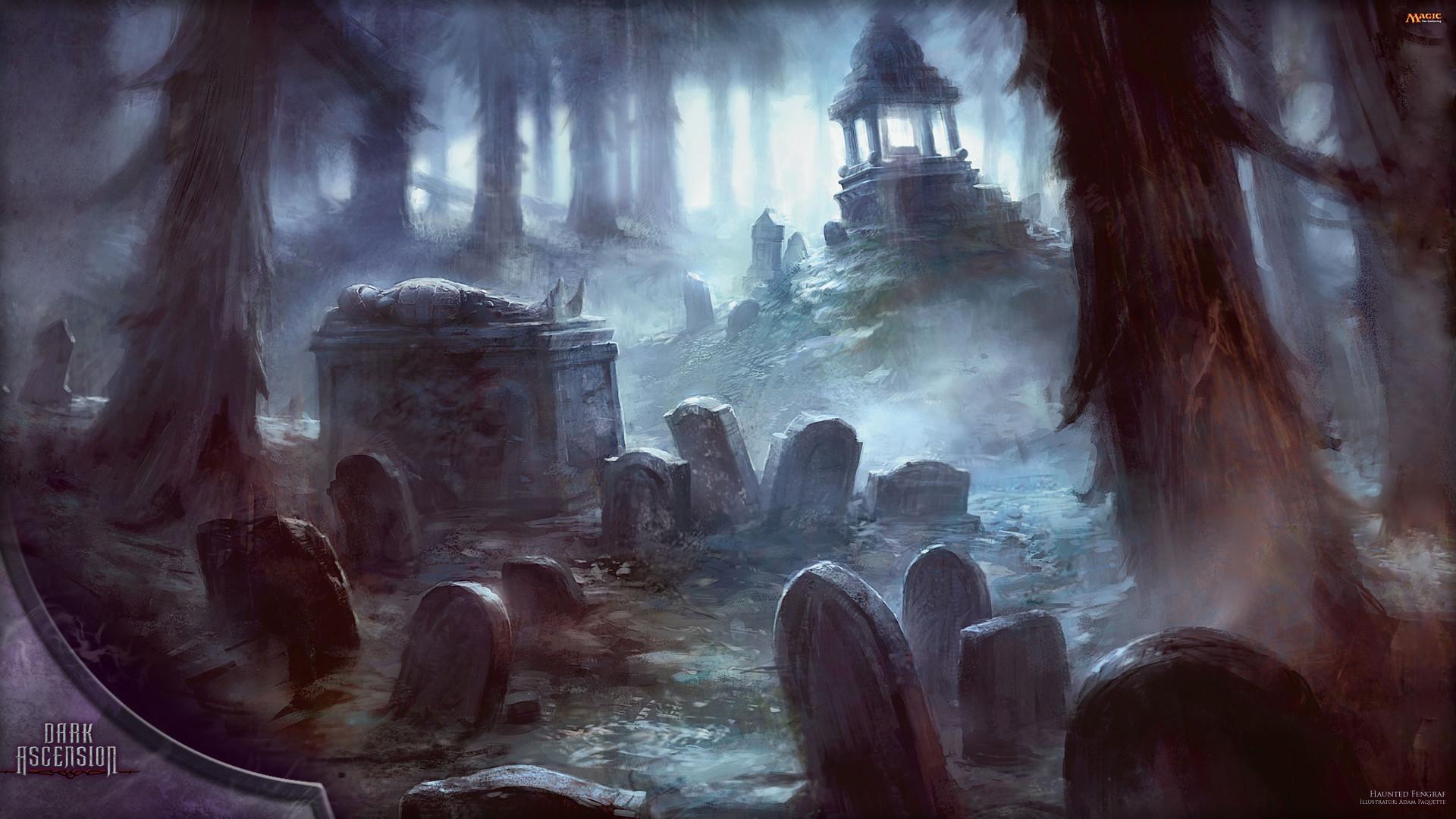 Wallpaper of the Week: Haunted Fengraf