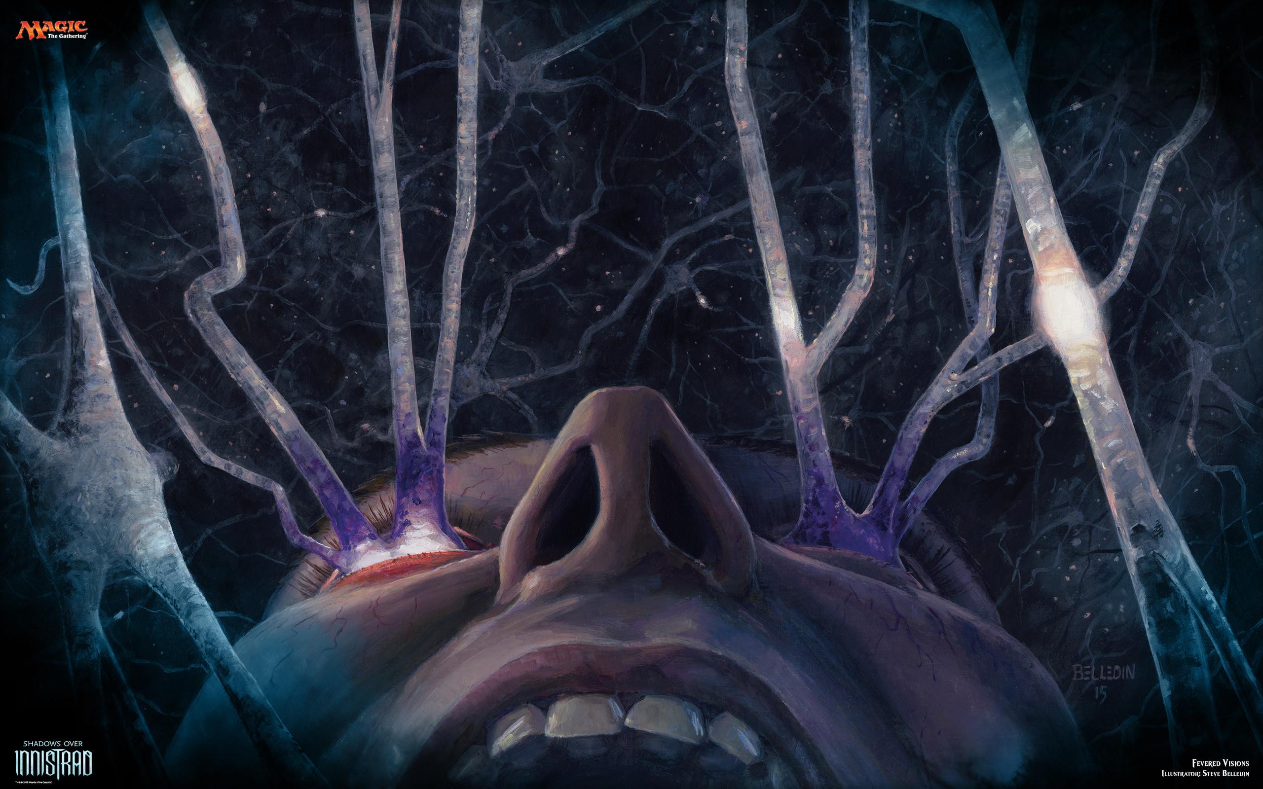 Fevered Visions by Steven Belledin   Magic The Gathering Offical Art    Pinterest   Illustrations
