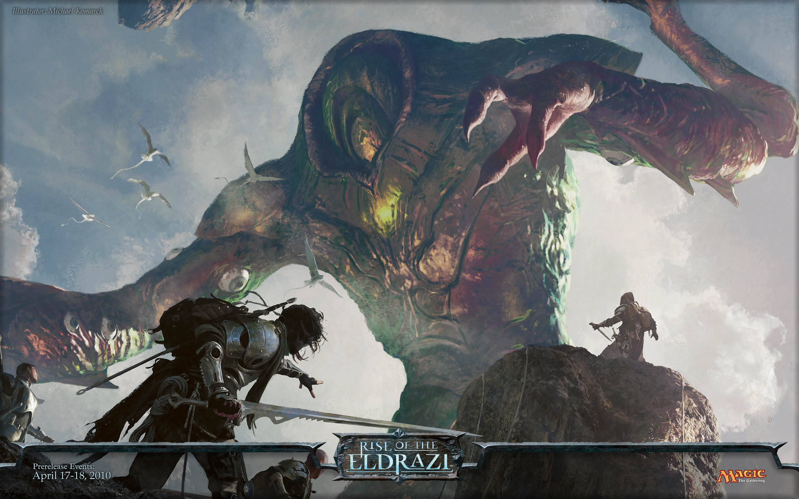 Wallpaper of the Week: Rise of the Eldrazi : Daily MTG : Magic: The