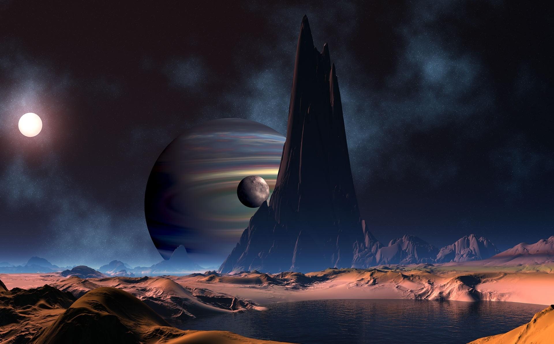 Trippy Space Wallpaper Hd