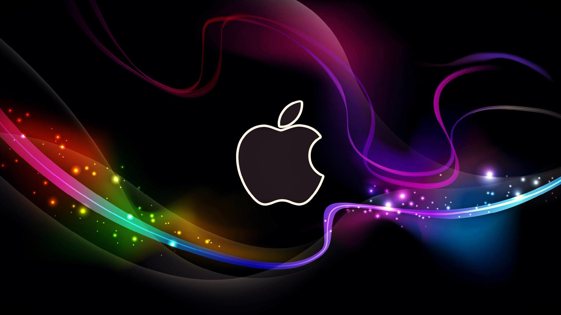 Gallery for – cool apple logo wallpaper