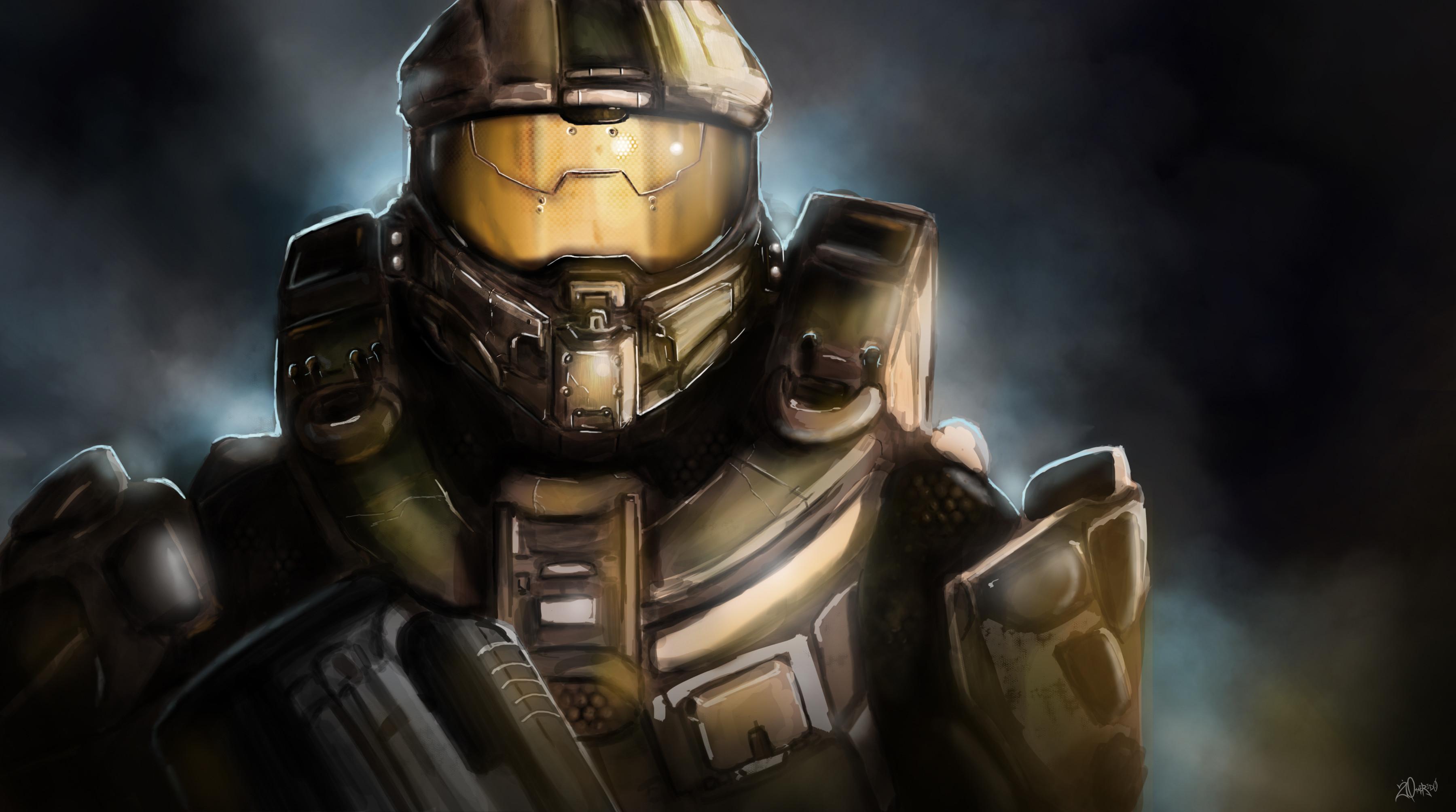 Halo 4 Spartan Wallpaper Hd