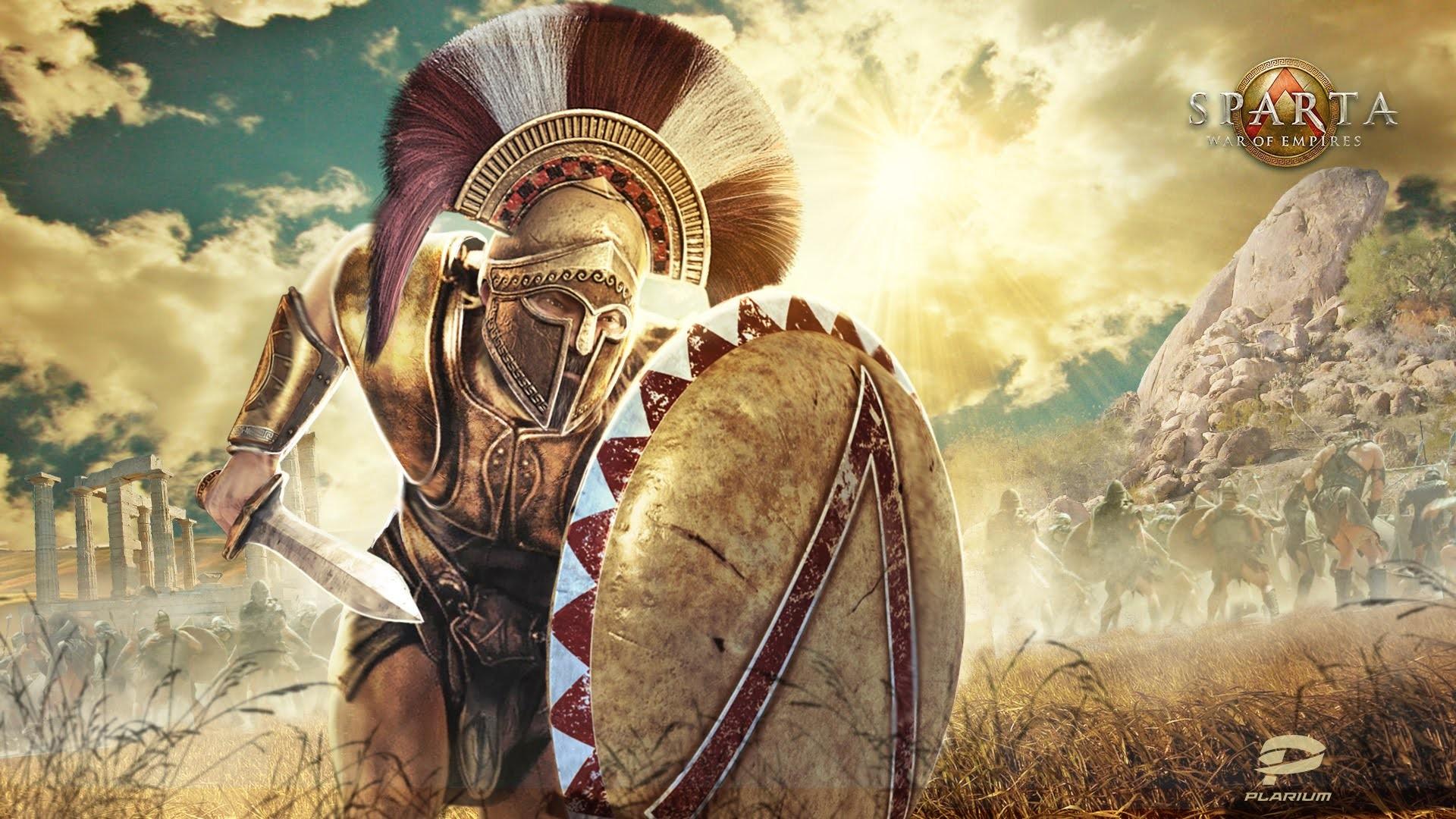 Spartan Warrior Wallpaper