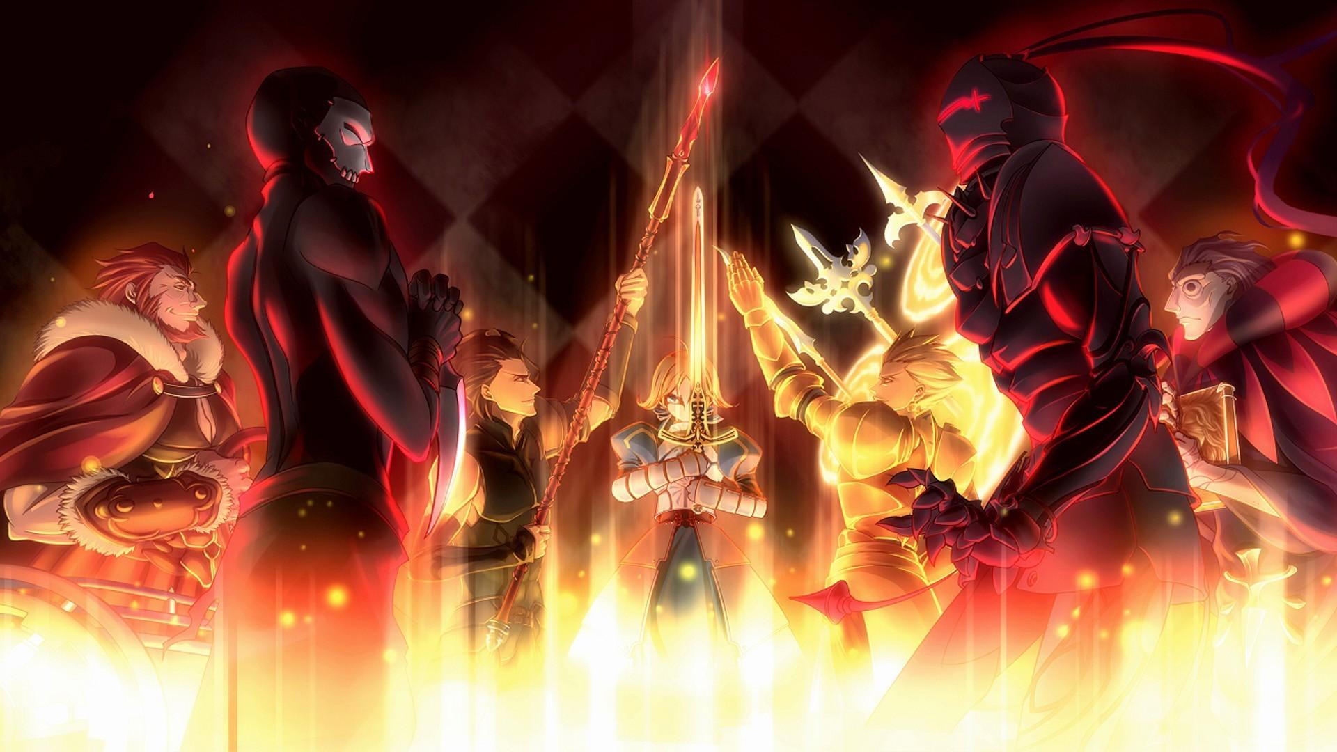 Anime – Fate/Zero Saber (Fate Series) Lancer (Fate/Zero)