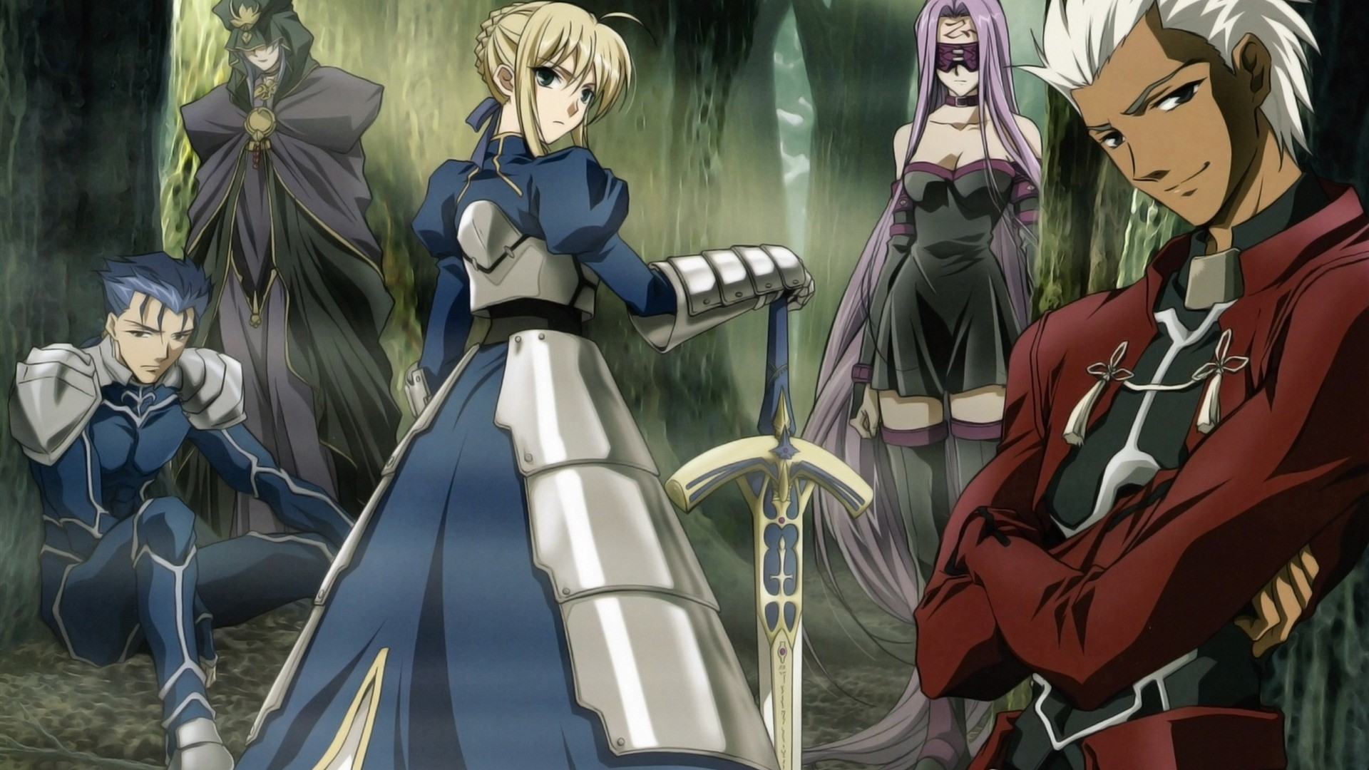 Anime – Fate/Stay Night Saber (Fate Series) Archer (Fate/Stay
