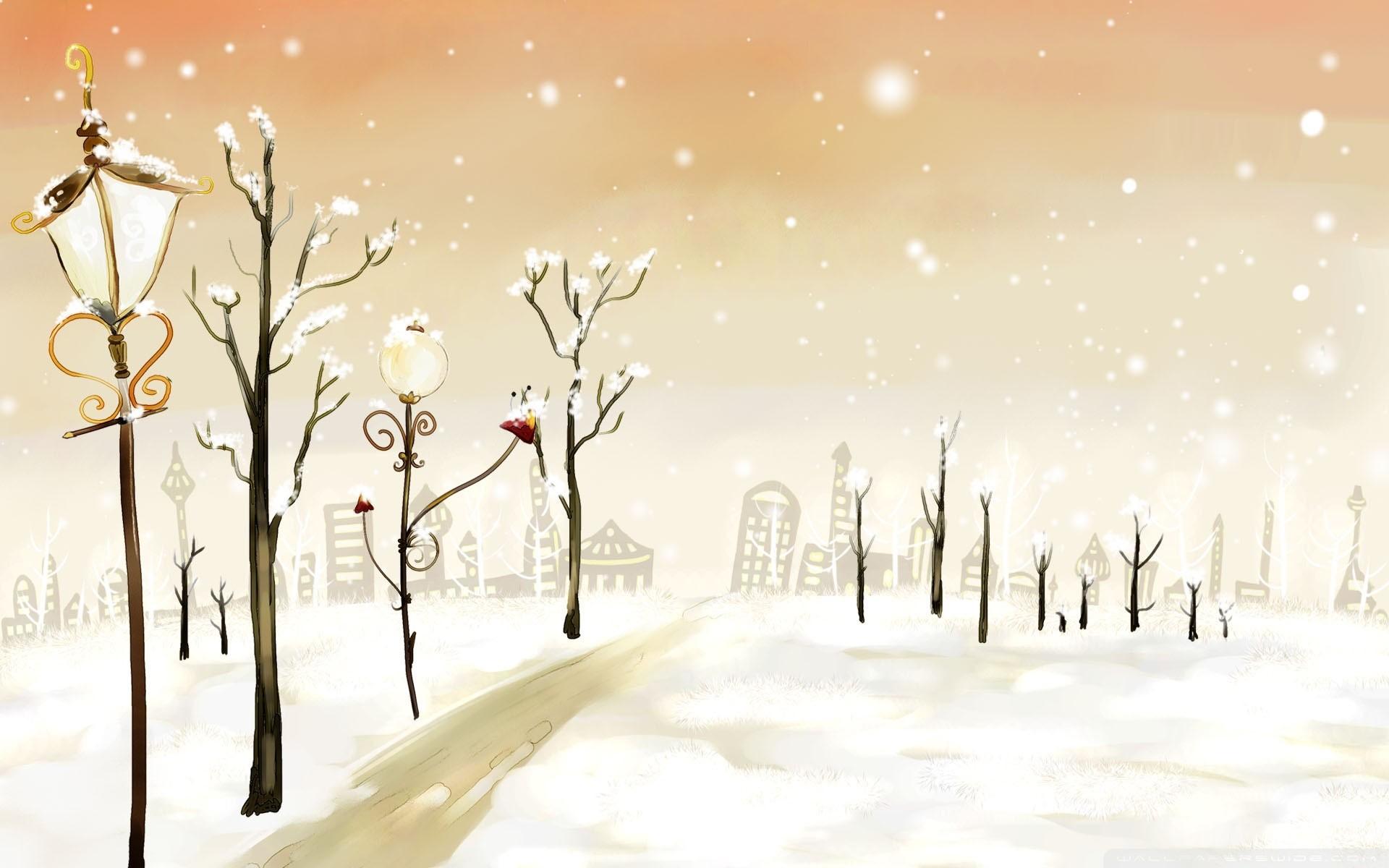 Cute Winter Desktop Background. Download …