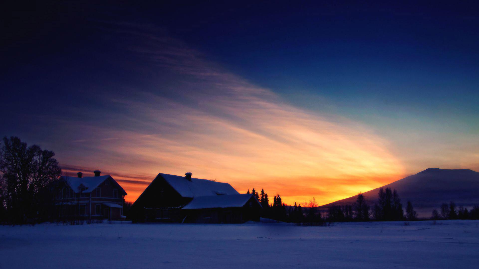 Top Winter Sunrise Backgrounds