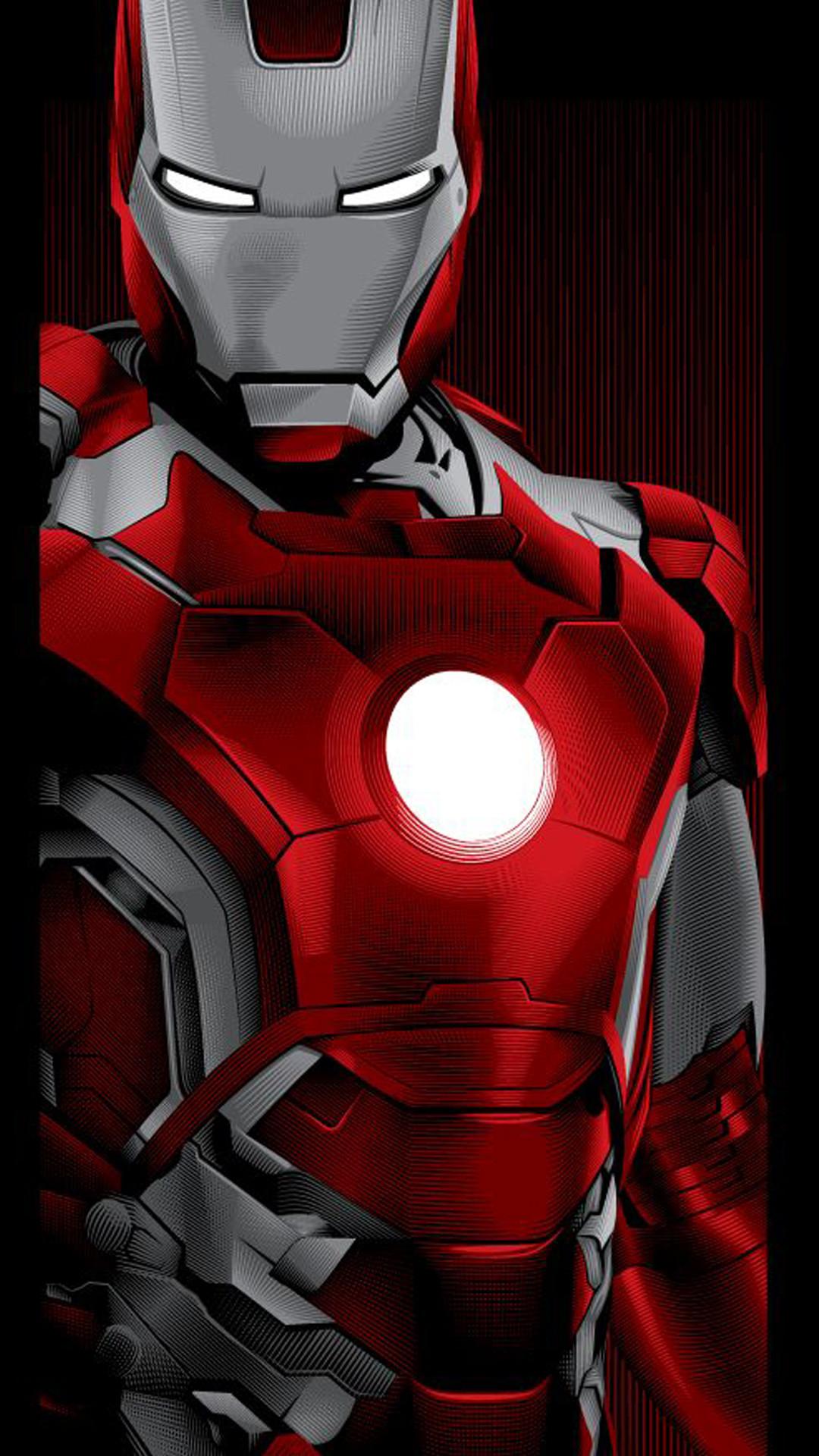 Iron Man cloud 9 iphone wallpaper