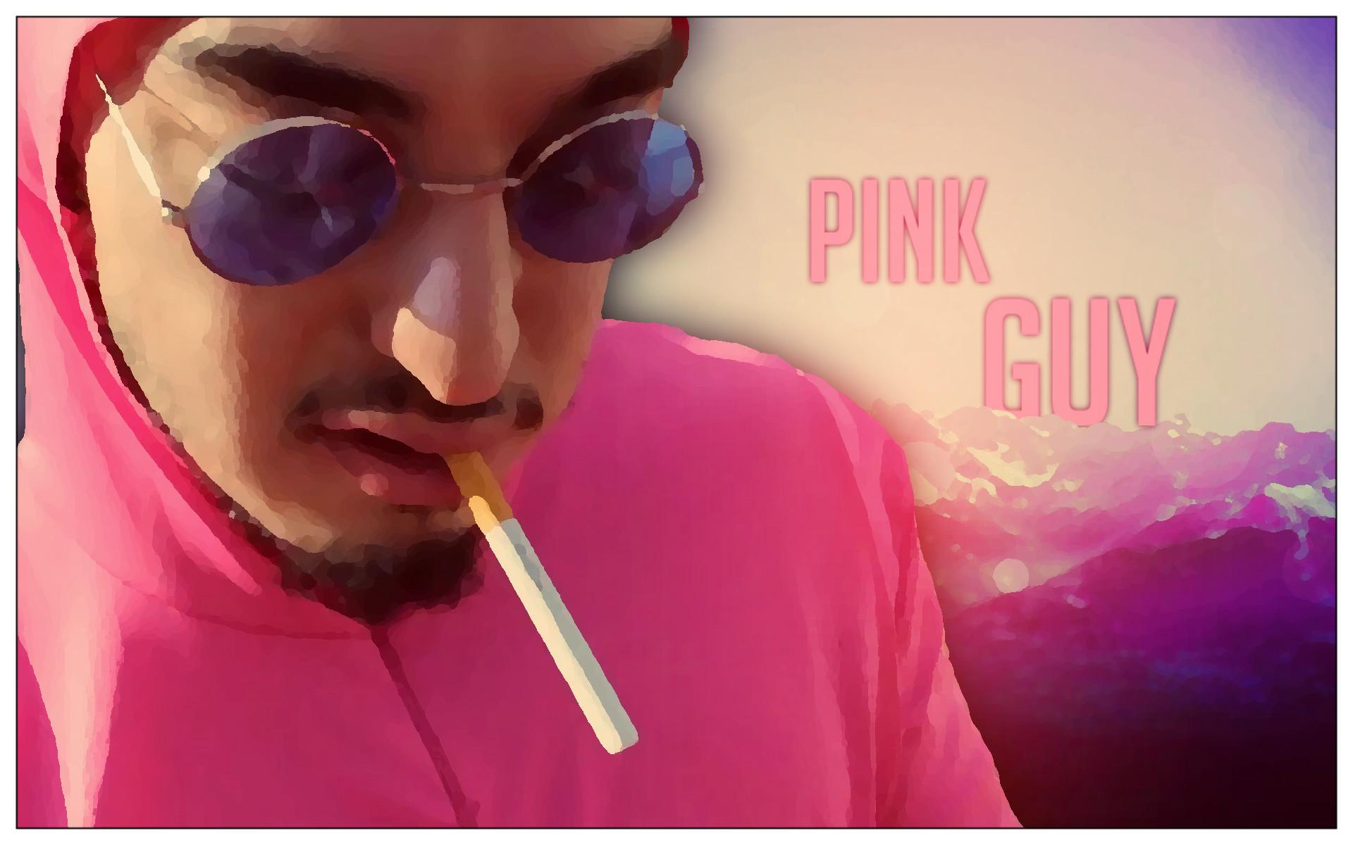 Pink Guy Wallpaper I made …